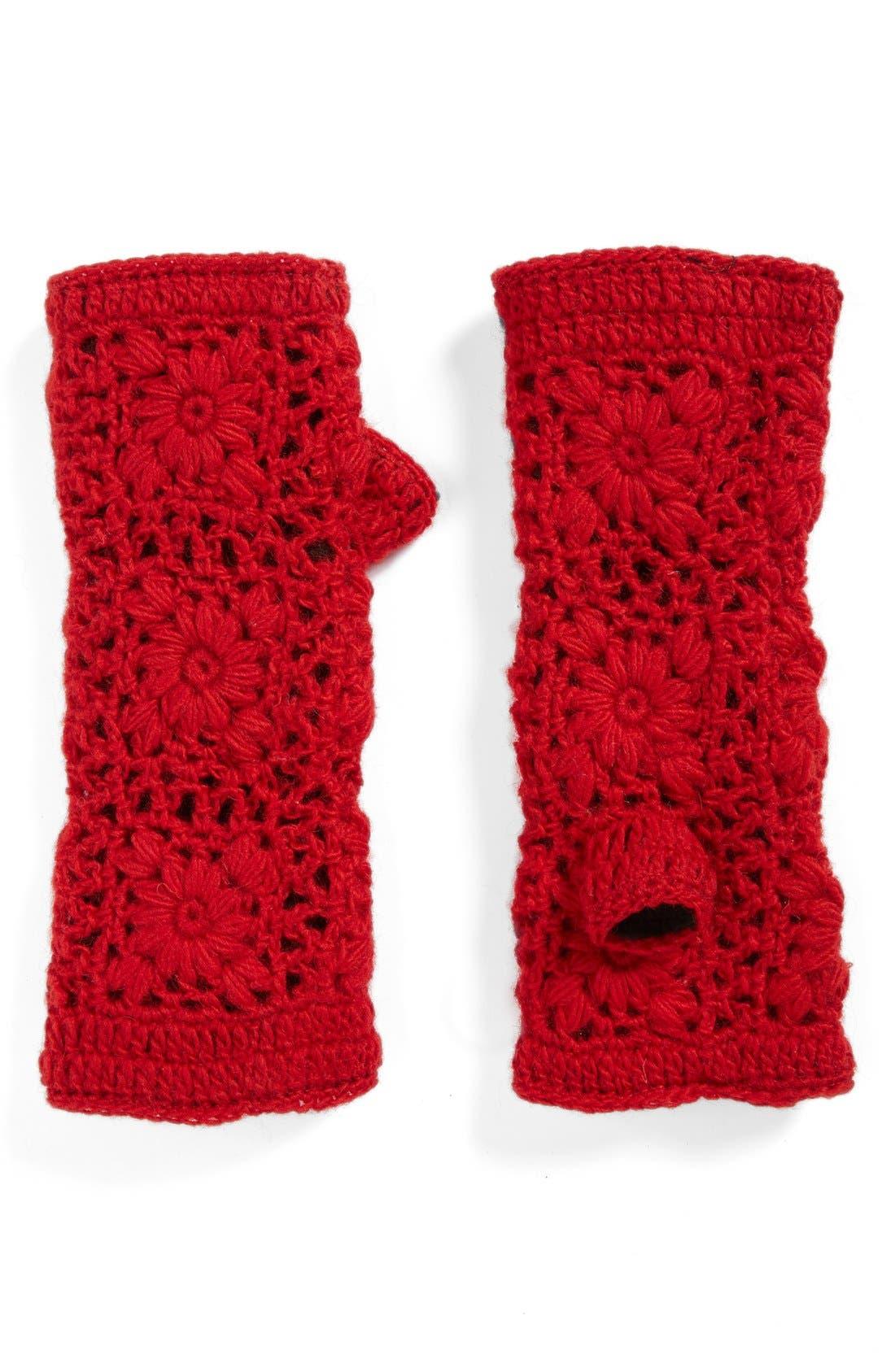 Alternate Image 1 Selected - Nirvanna Designs Crochet Handwarmers