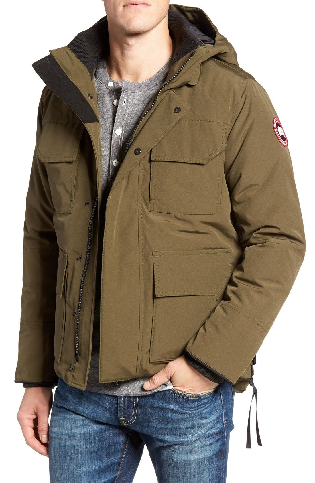 Alternate Image 1 Selected - Canada Goose 'Maitland' Down Fill Parka