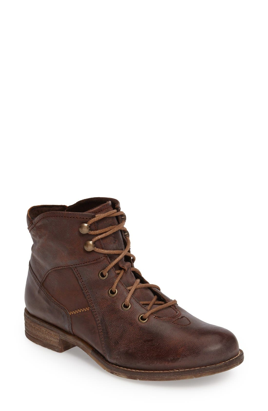 Sienna 11 Boot,                         Main,                         color, Moro Leather