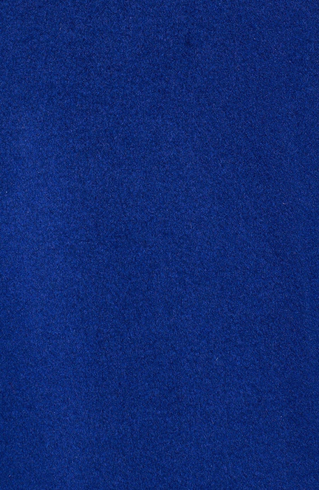Reefer Coat,                             Alternate thumbnail 6, color,                             Cobalt