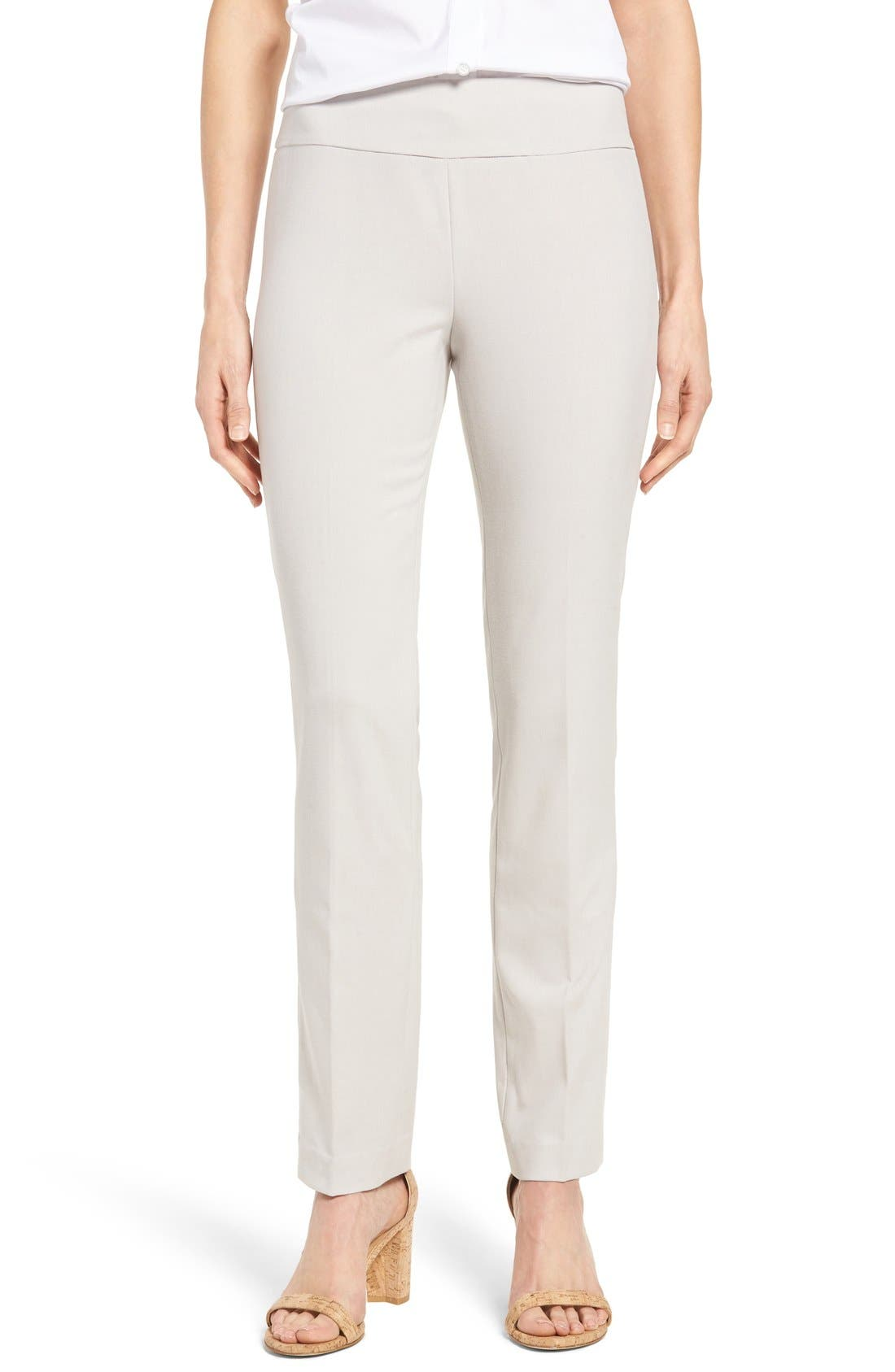 Main Image - NIC+ZOE Stretch Knit Slim Leg Pants