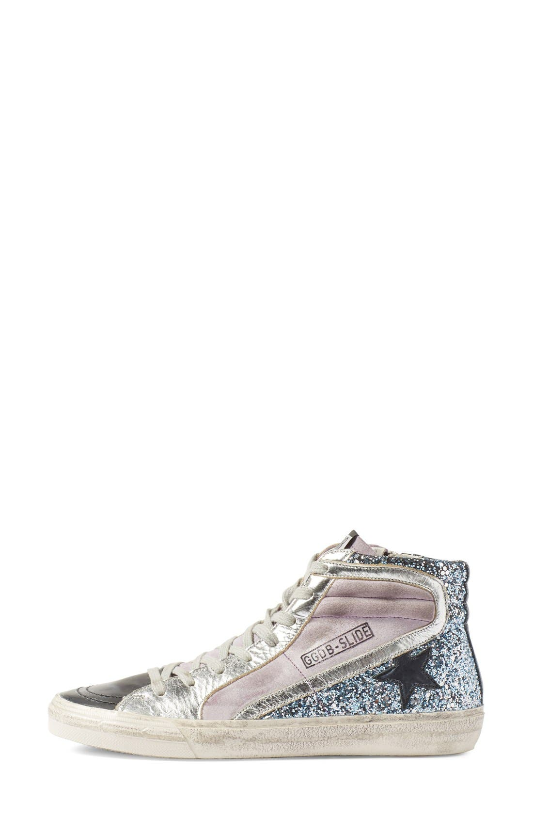 Alternate Image 4  - Golden Goose 'Slide' High Top Sneaker (Women)