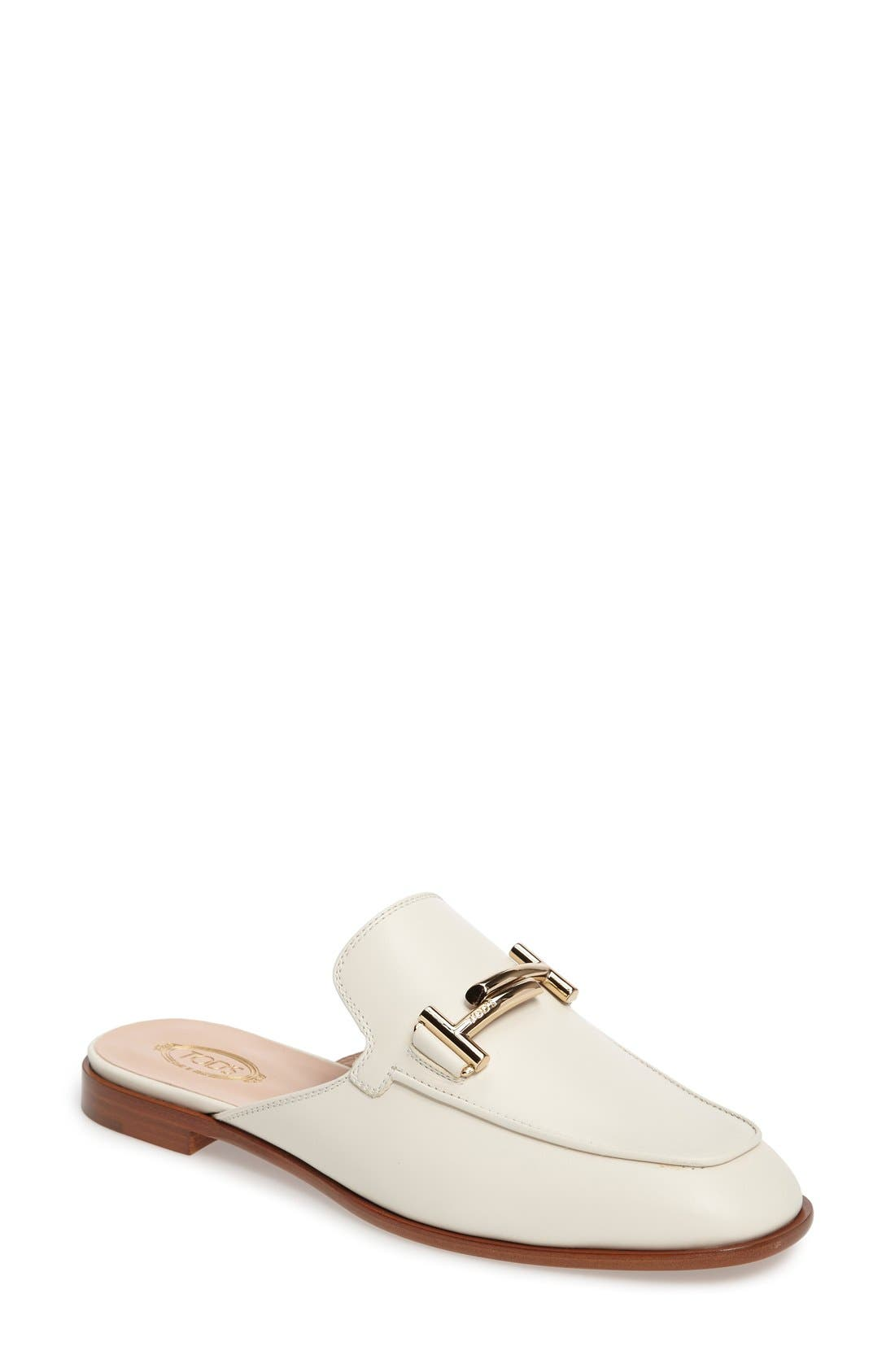 Double T Mule,                         Main,                         color, White