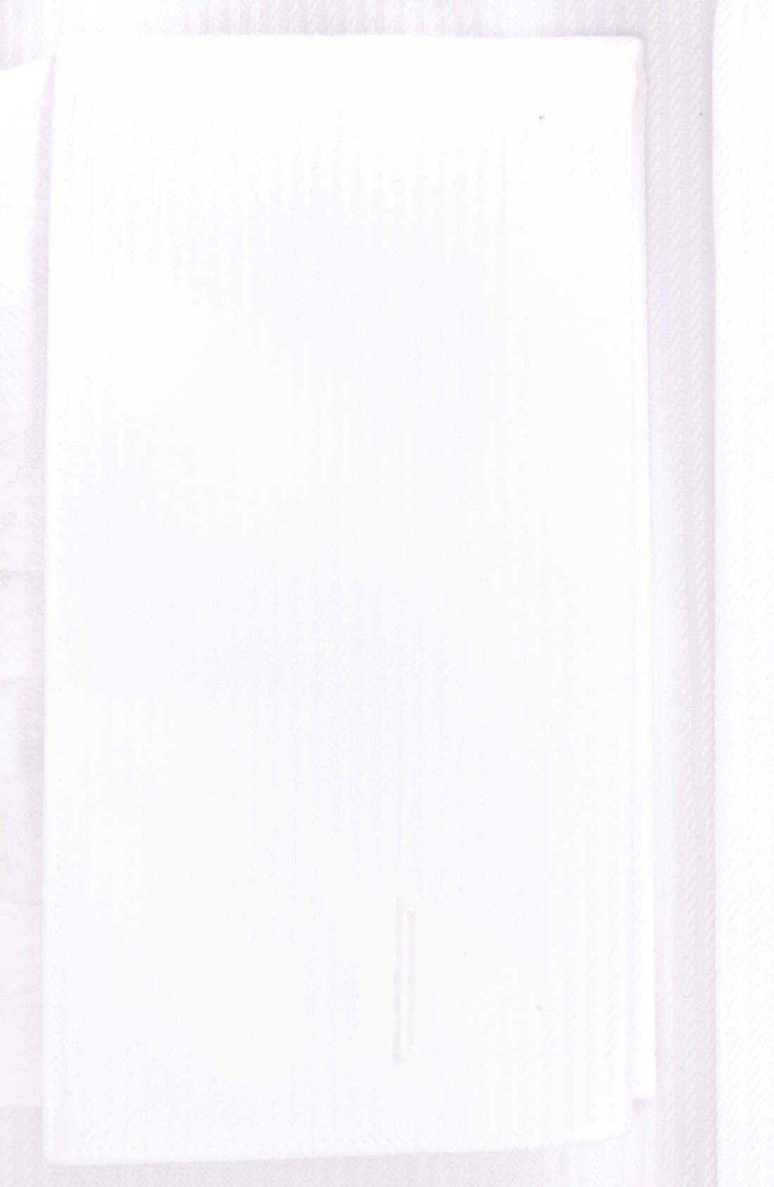 Alternate Image 2  - David Donahue Trim Fit Stripe Tuxedo Shirt