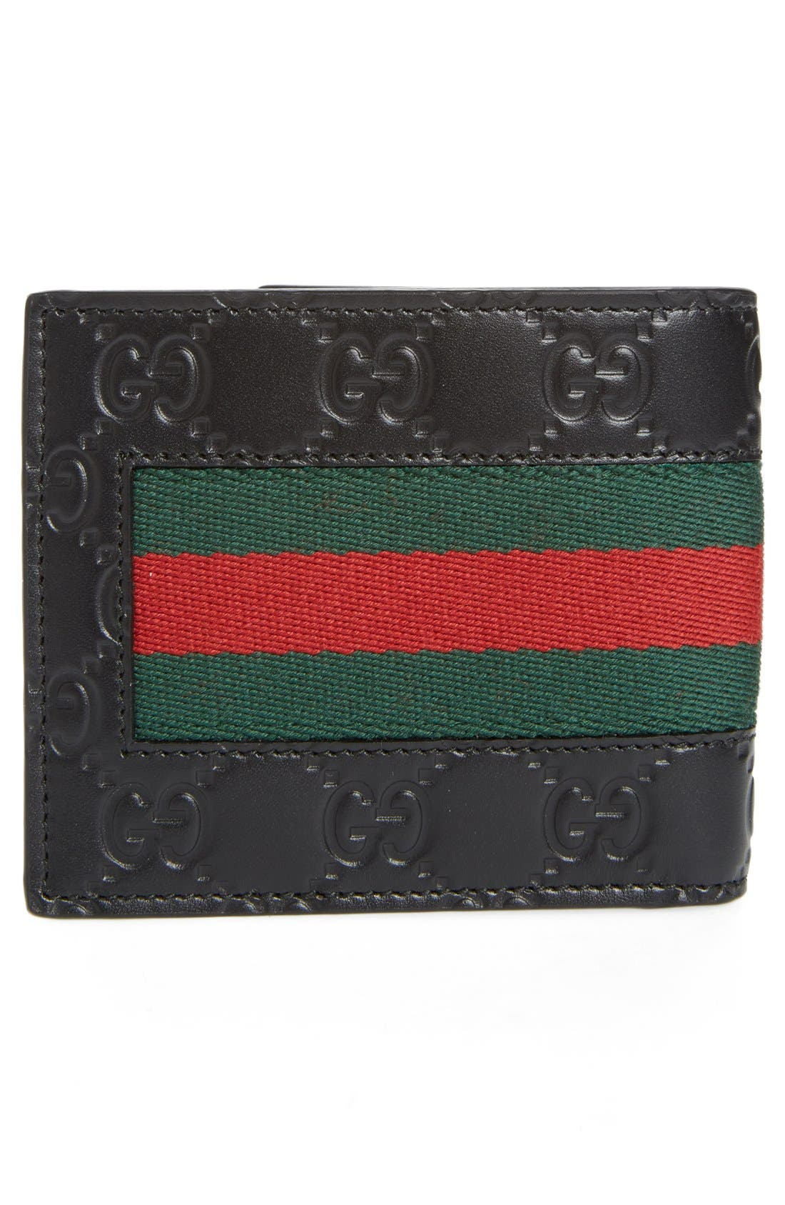 Alternate Image 3  - Gucci New Web Wallet