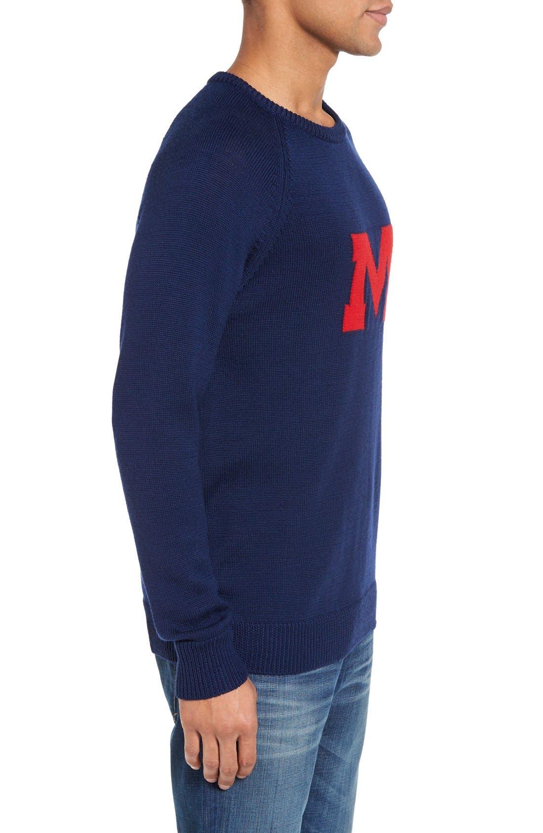 Alternate Image 3  - Hillflint Ole Miss Heritage Sweater