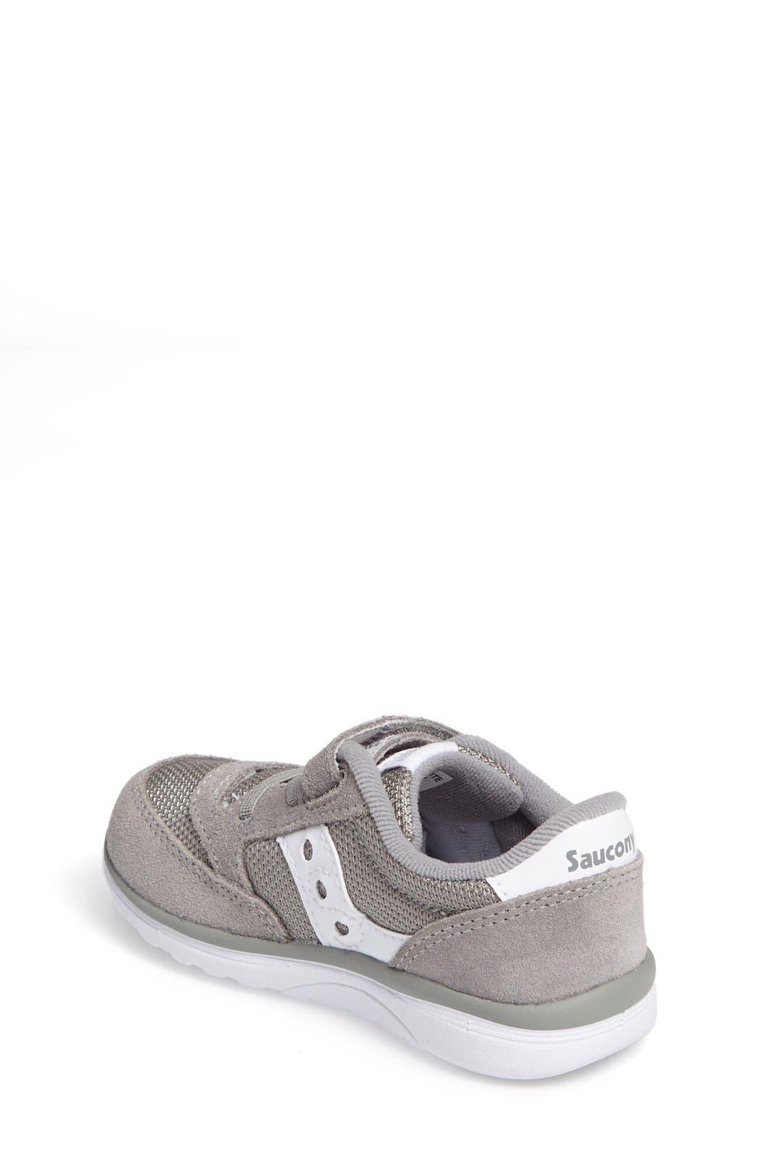 Jazz Lite Sneaker,                             Alternate thumbnail 2, color,                             Grey/ White