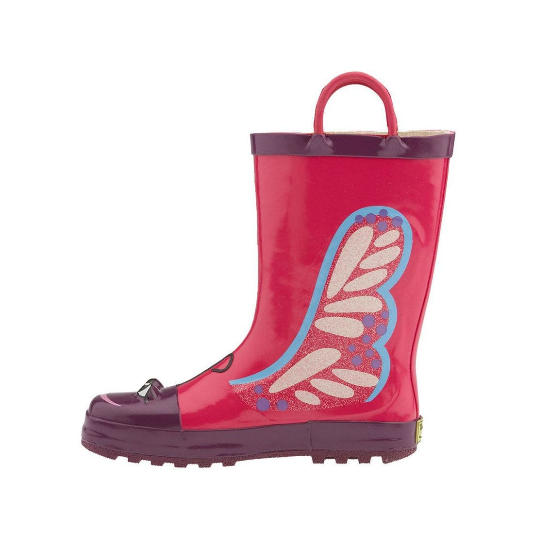 Alternate Image 2  - Western Chief 'Butterfly' Rain Boot (Walker, Toddler, Little Kid & Big Kid)