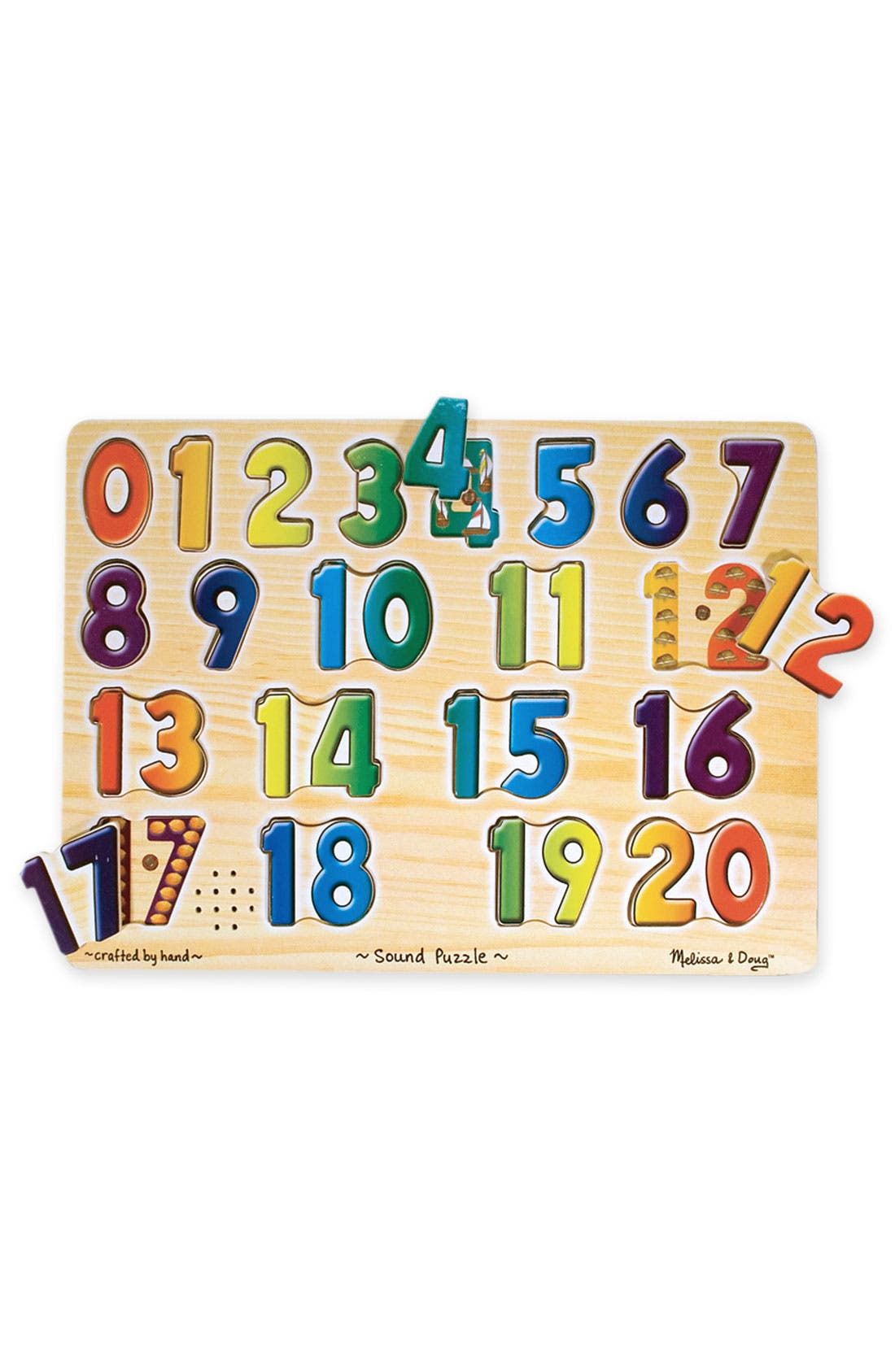 Sound Puzzle,                         Main,                         color, Numbers