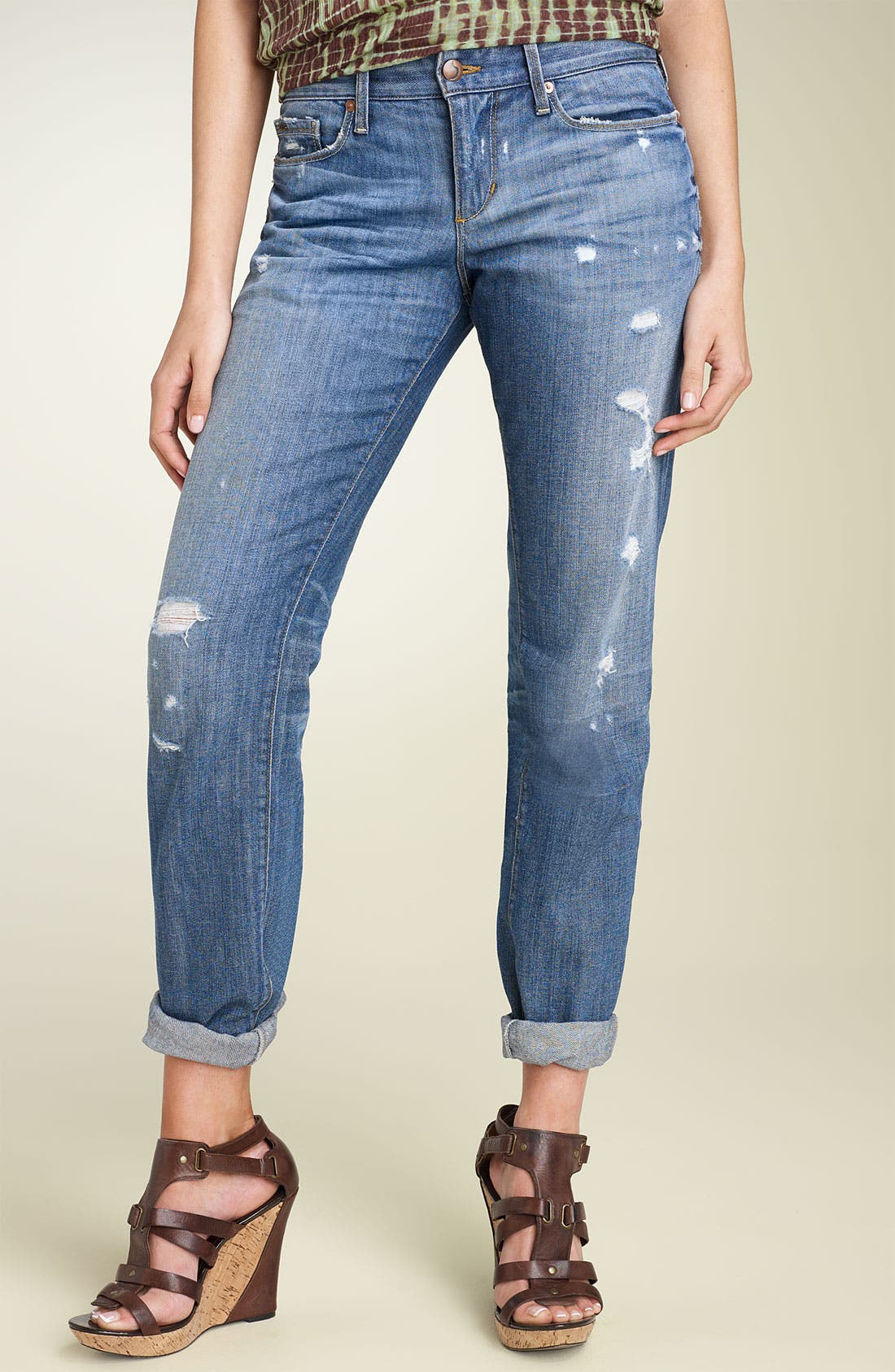 Alternate Image 2  - Joe's Jeans 'Ex-Lover' Stretch Boyfriend Jeans (Shae Wash)
