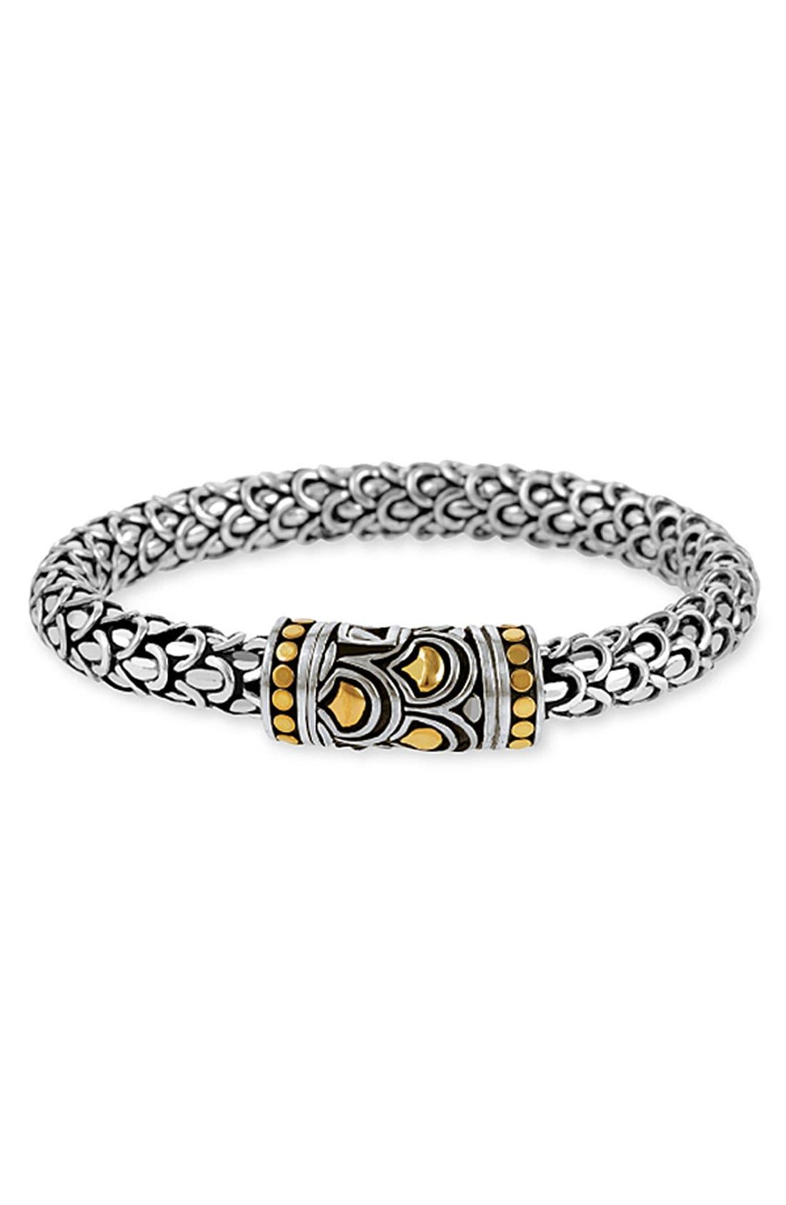 Main Image - John Hardy 'Naga' Silver & Gold Bracelet