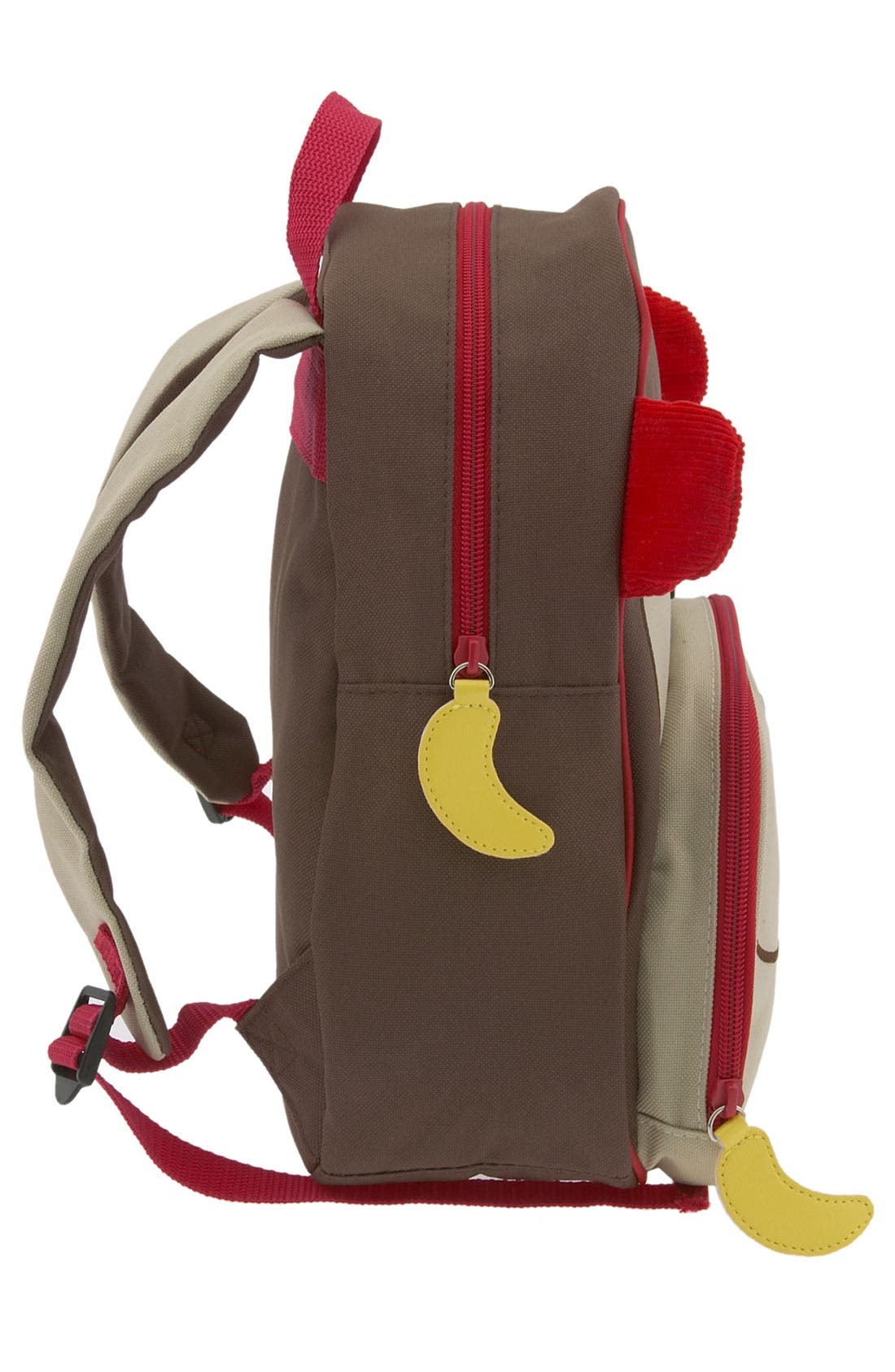 Zoo Pack Backpack,                             Alternate thumbnail 4, color,                             Brown