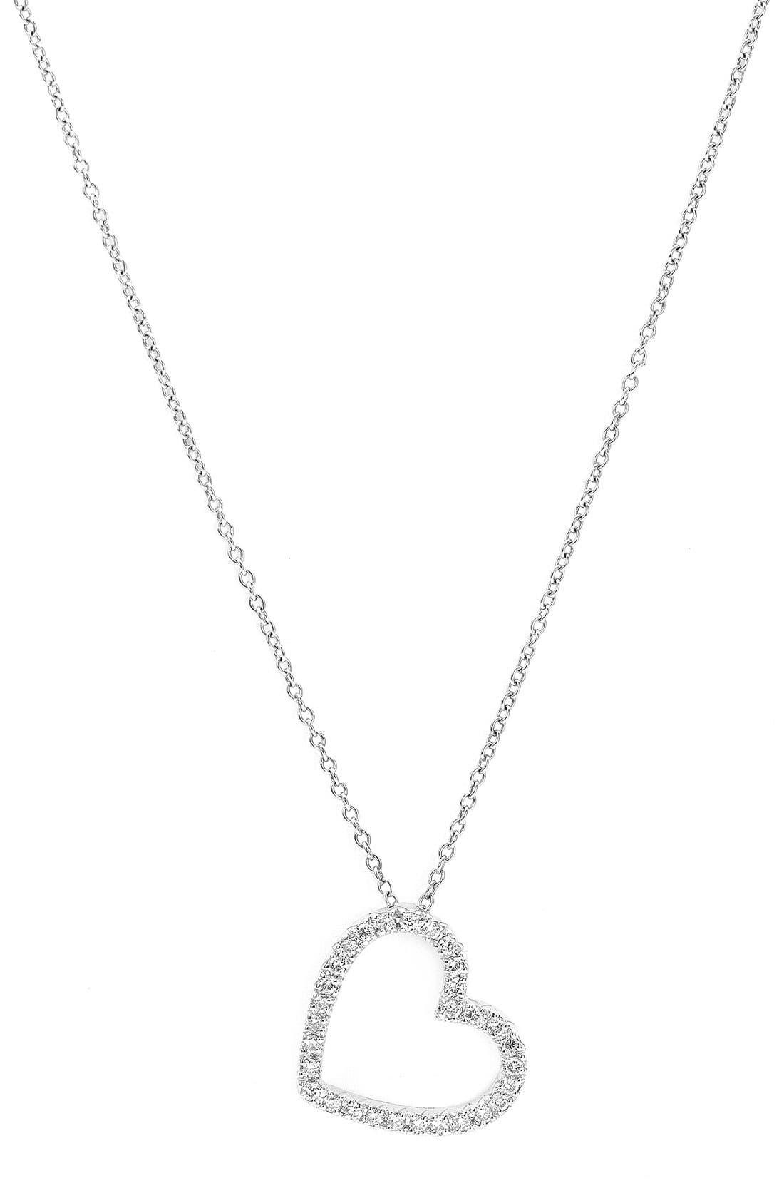 Main Image - Kwiat Small Silhouette Diamond Necklace