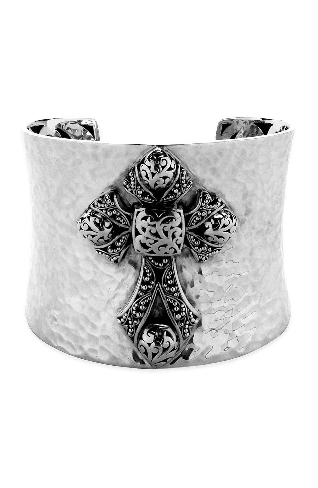 Main Image - Lois Hill Concave Cuff Bracelet with Cutout Detail