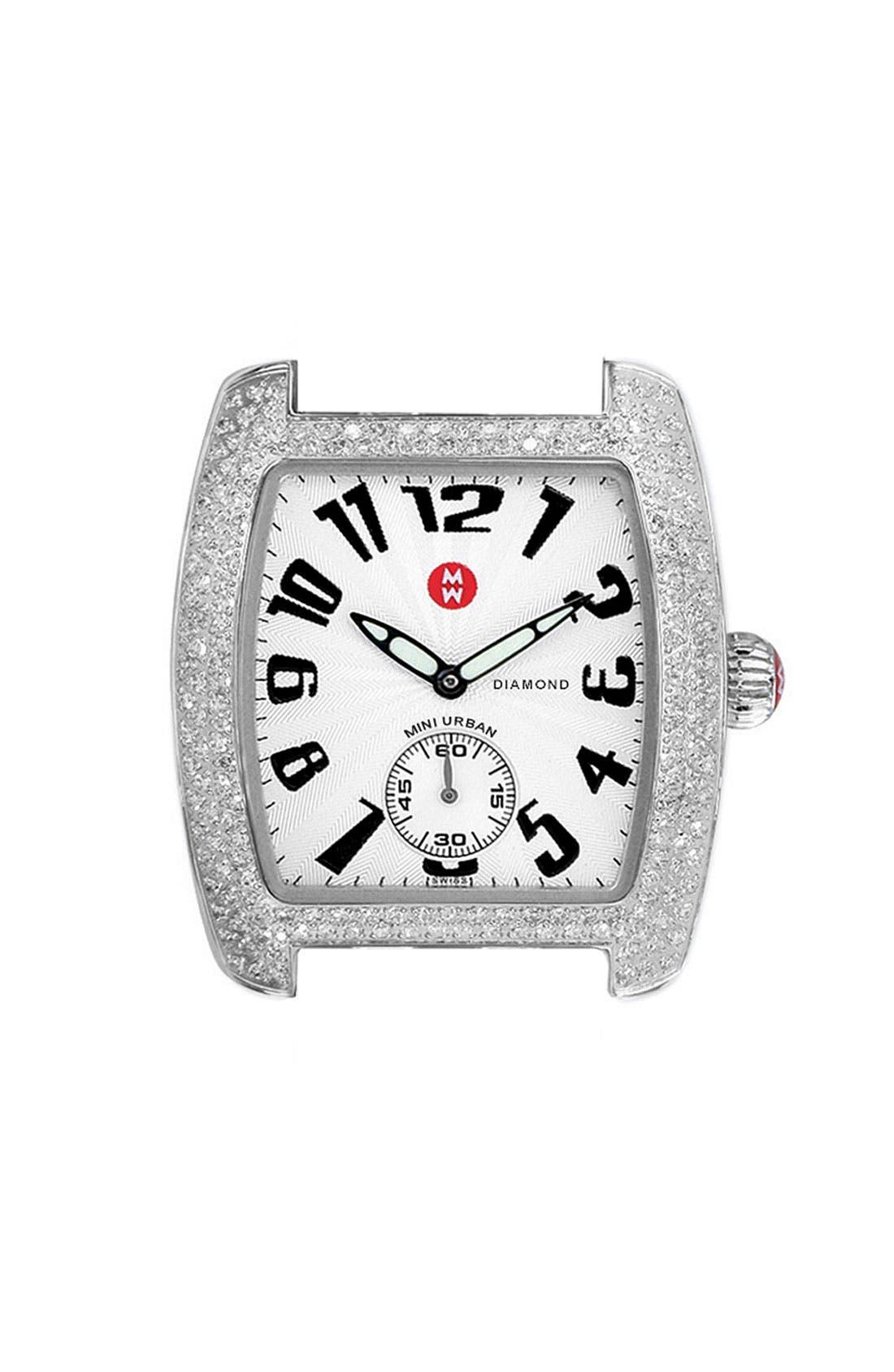 Alternate Image 1 Selected - MICHELE 'Urban Mini Diamond' Watch Case