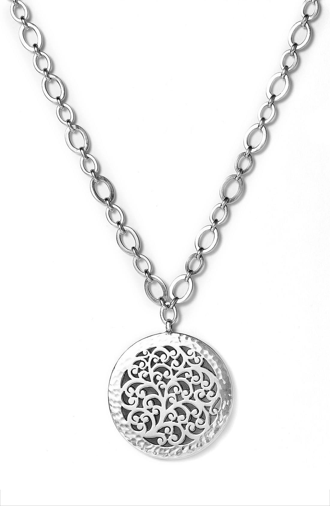 Main Image - Lois Hill Large Disc Pendant Necklace