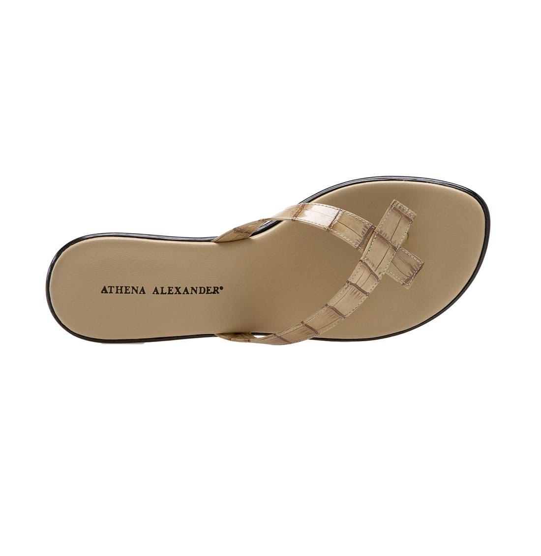 Alternate Image 3  - Athena Alexander 'Bunni' Wedge Sandal