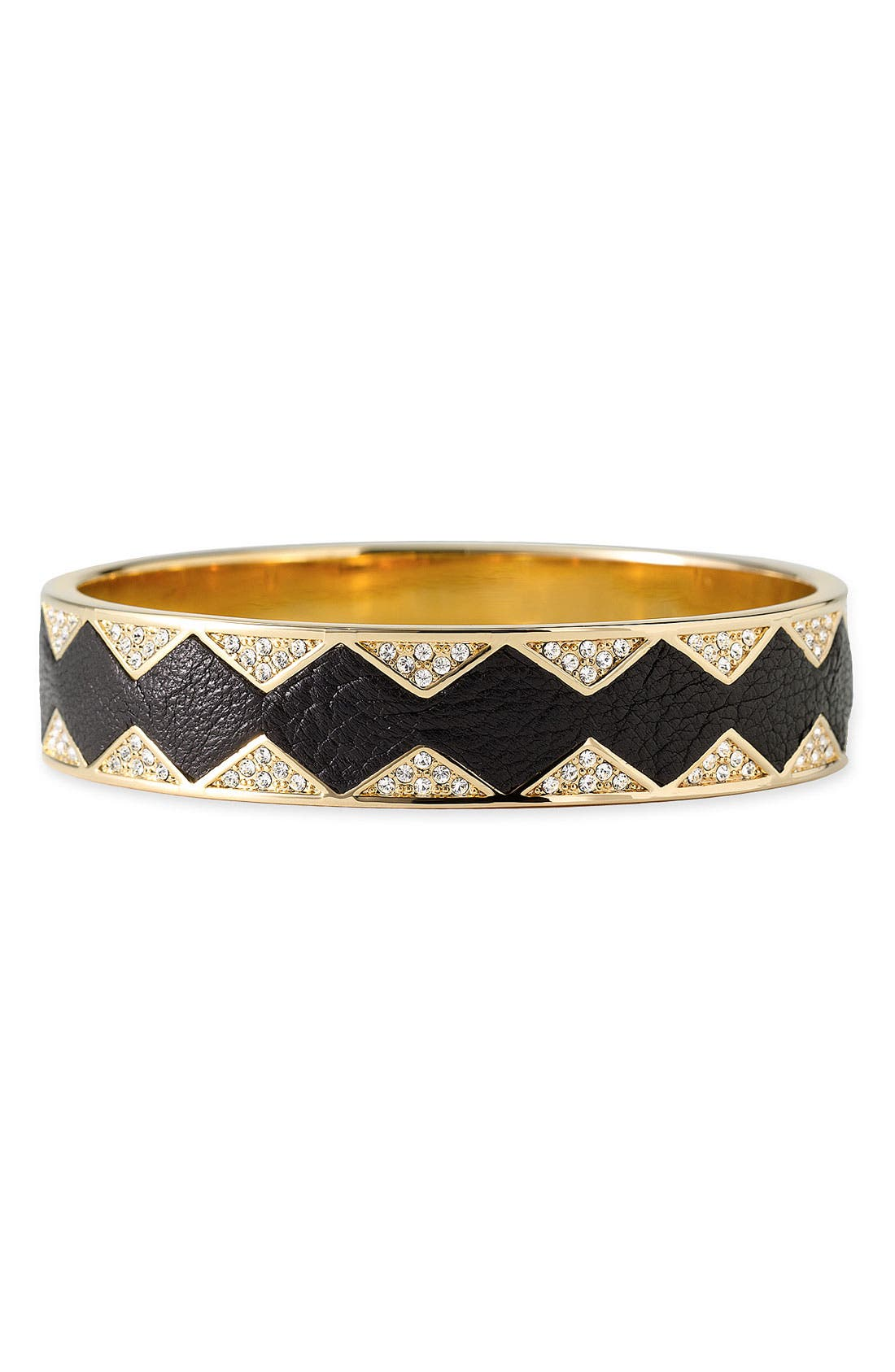 Alternate Image 1 Selected - House of Harlow 1960 Leather Bangle
