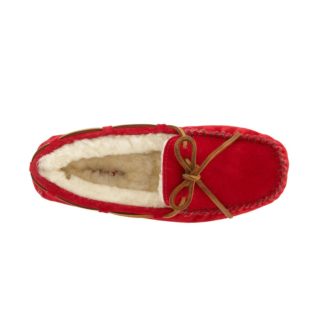 Dakota Slipper,                             Alternate thumbnail 3, color,                             Jester Red