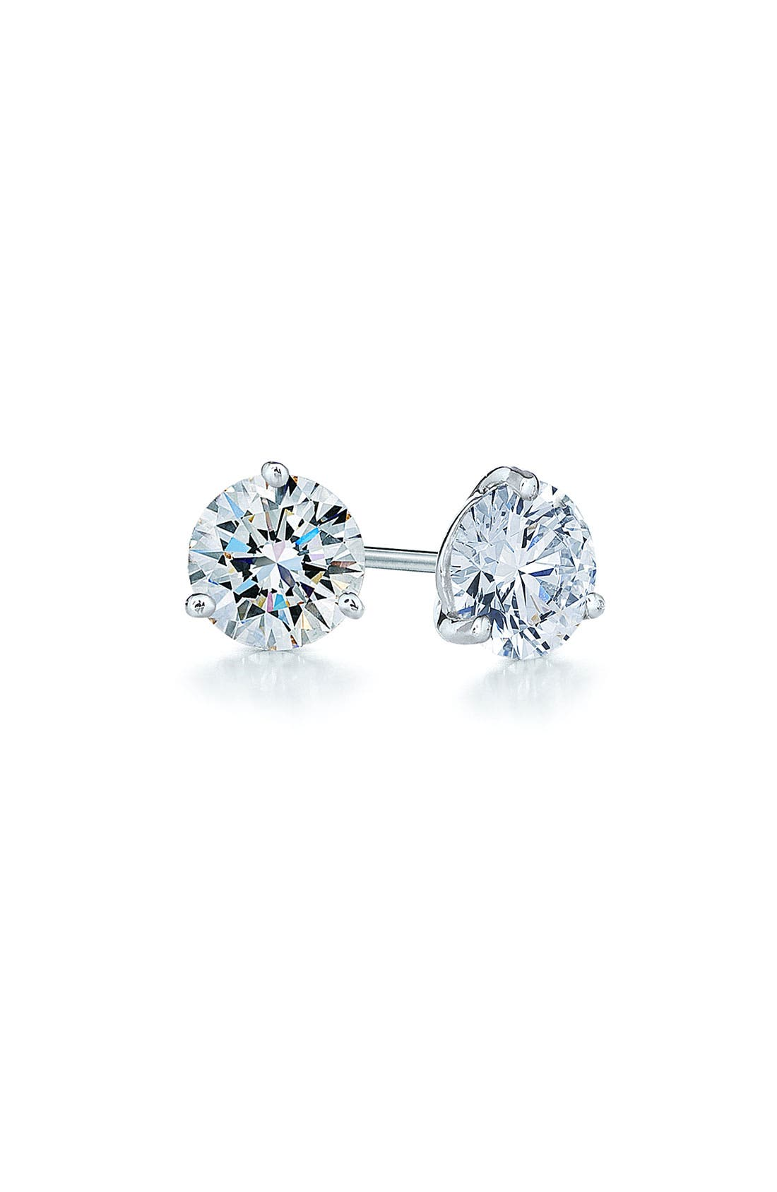 Kwiat 0.33ct tw Diamond & Platinum Stud Earrings