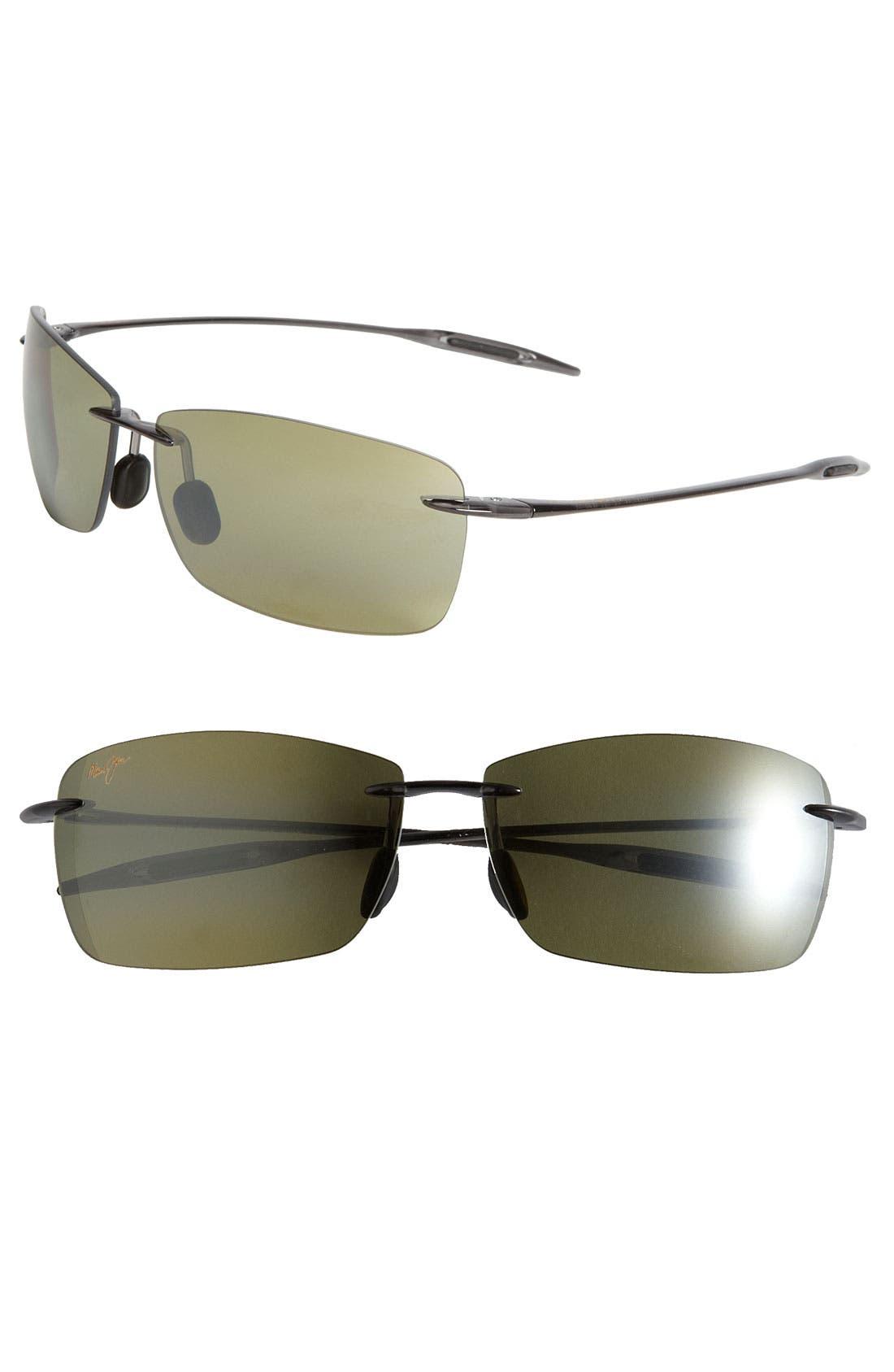 Maui Jim Lighthouse 65mm PolarizedPlus2® Rimless Sunglasses