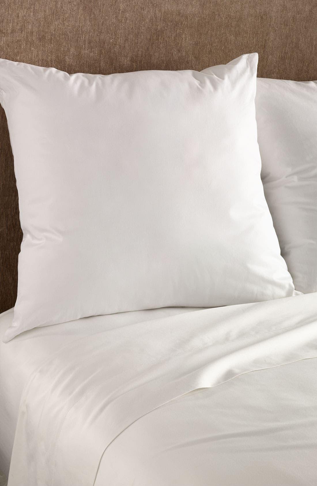Euro Pillow,                         Main,                         color, White