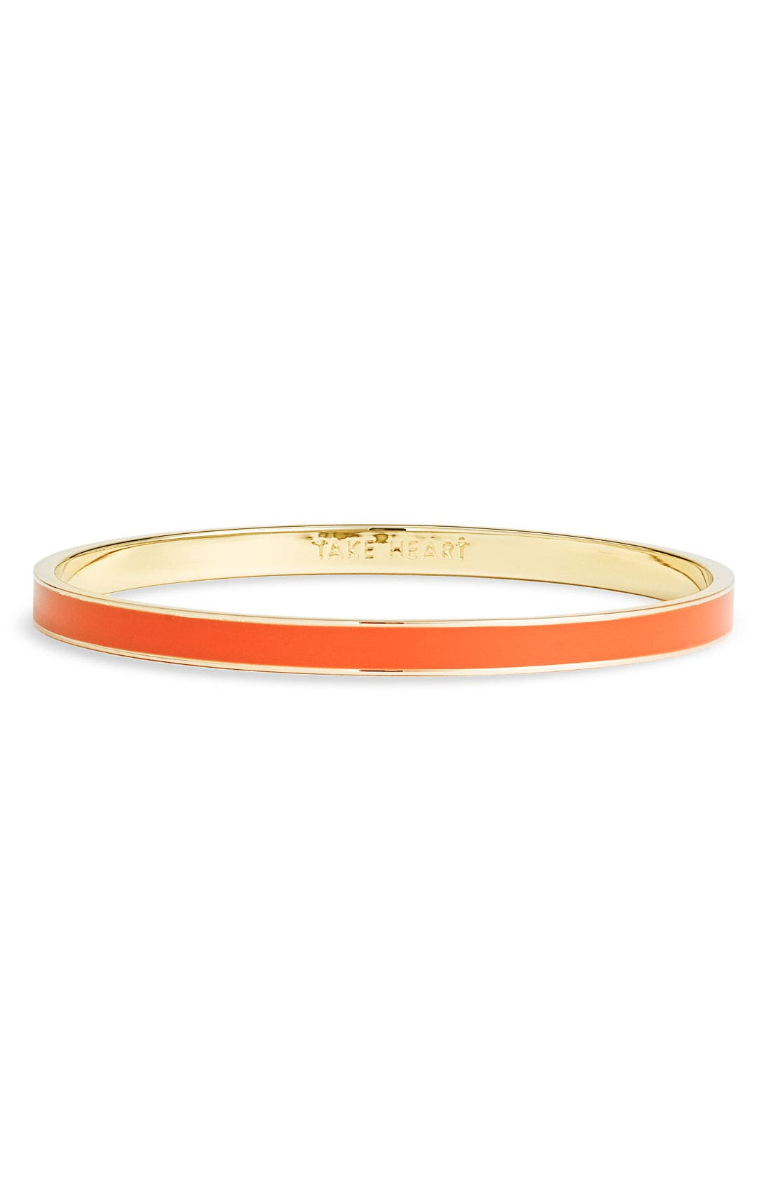 Main Image - kate spade new york 'idiom - draw the line' ultra thin bangle