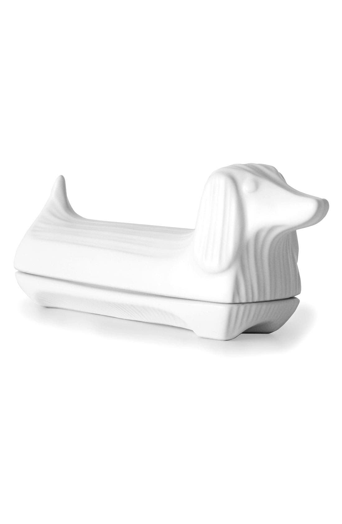 Alternate Image 1 Selected - Jonathan Adler Dachshund Butter Dish