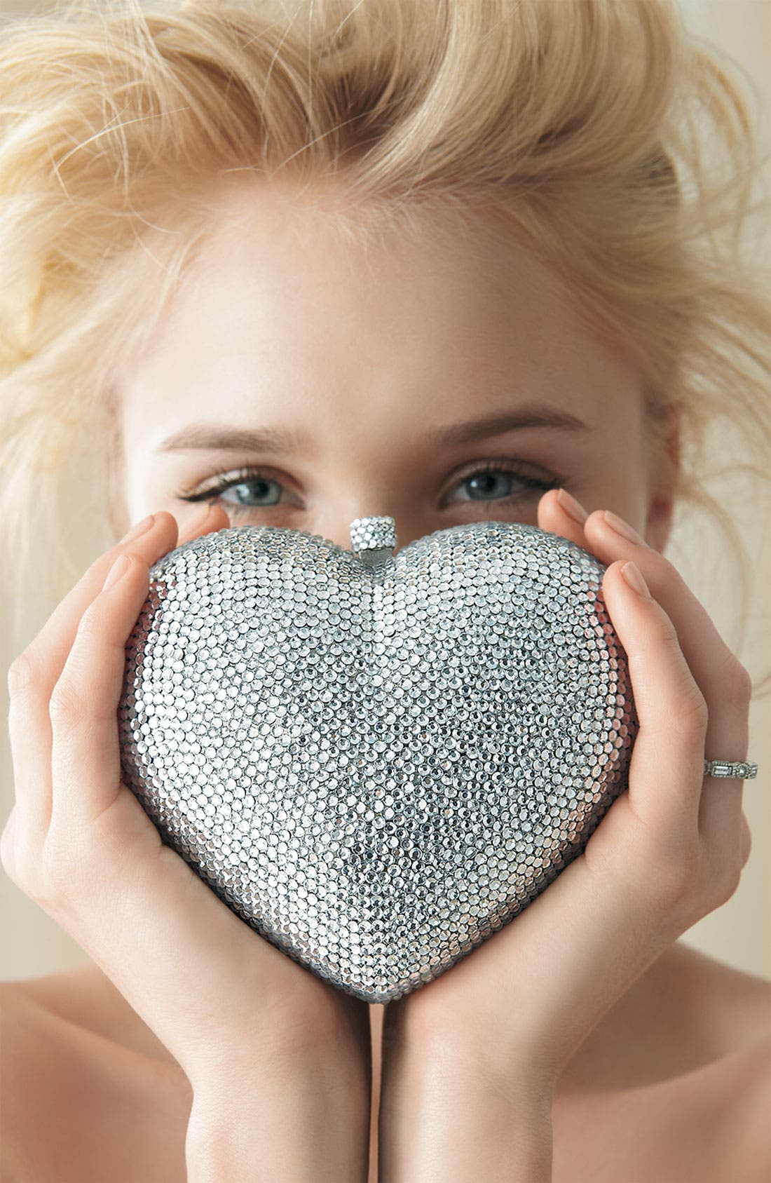 Alternate Image 4  - Tasha 'Heart' Clutch