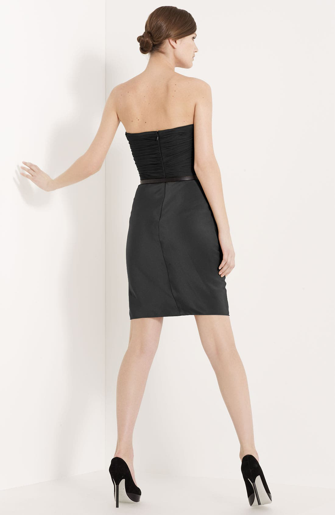 Alternate Image 2  - Jason Wu Belted Strapless Dress