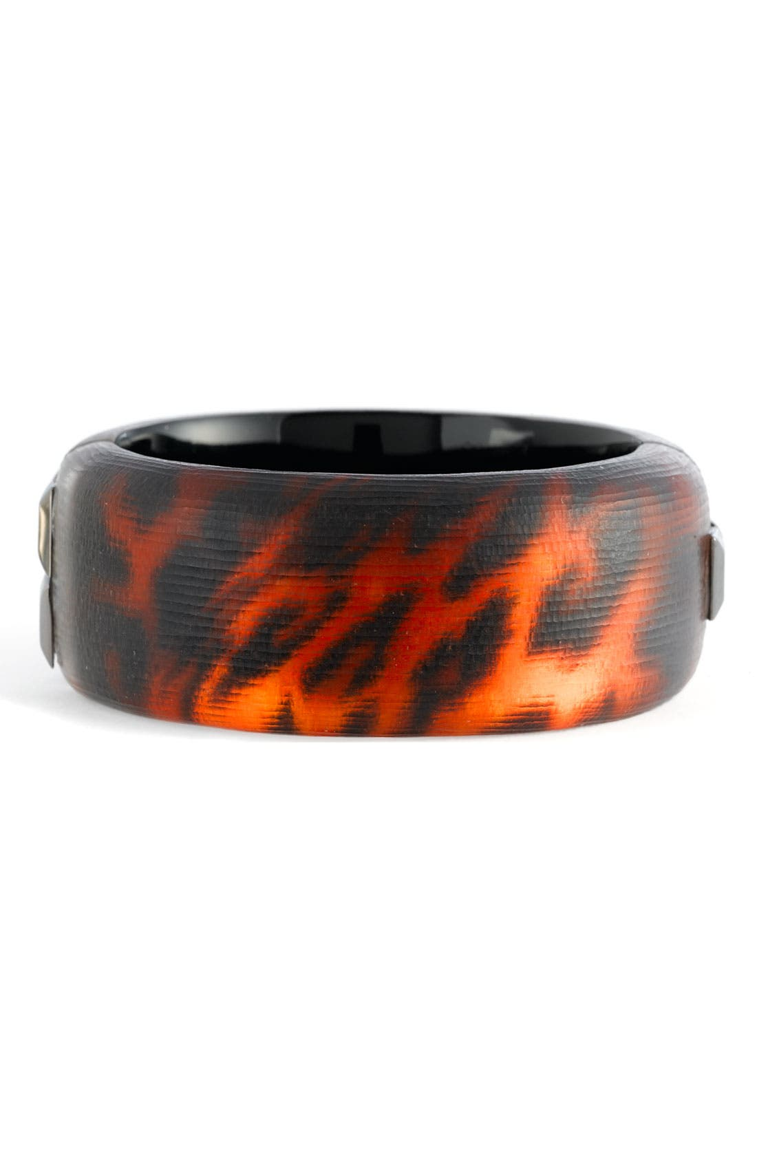 Main Image - Alexis Bittar Leopard Hinged Bangle (Nordstrom Exclusive)