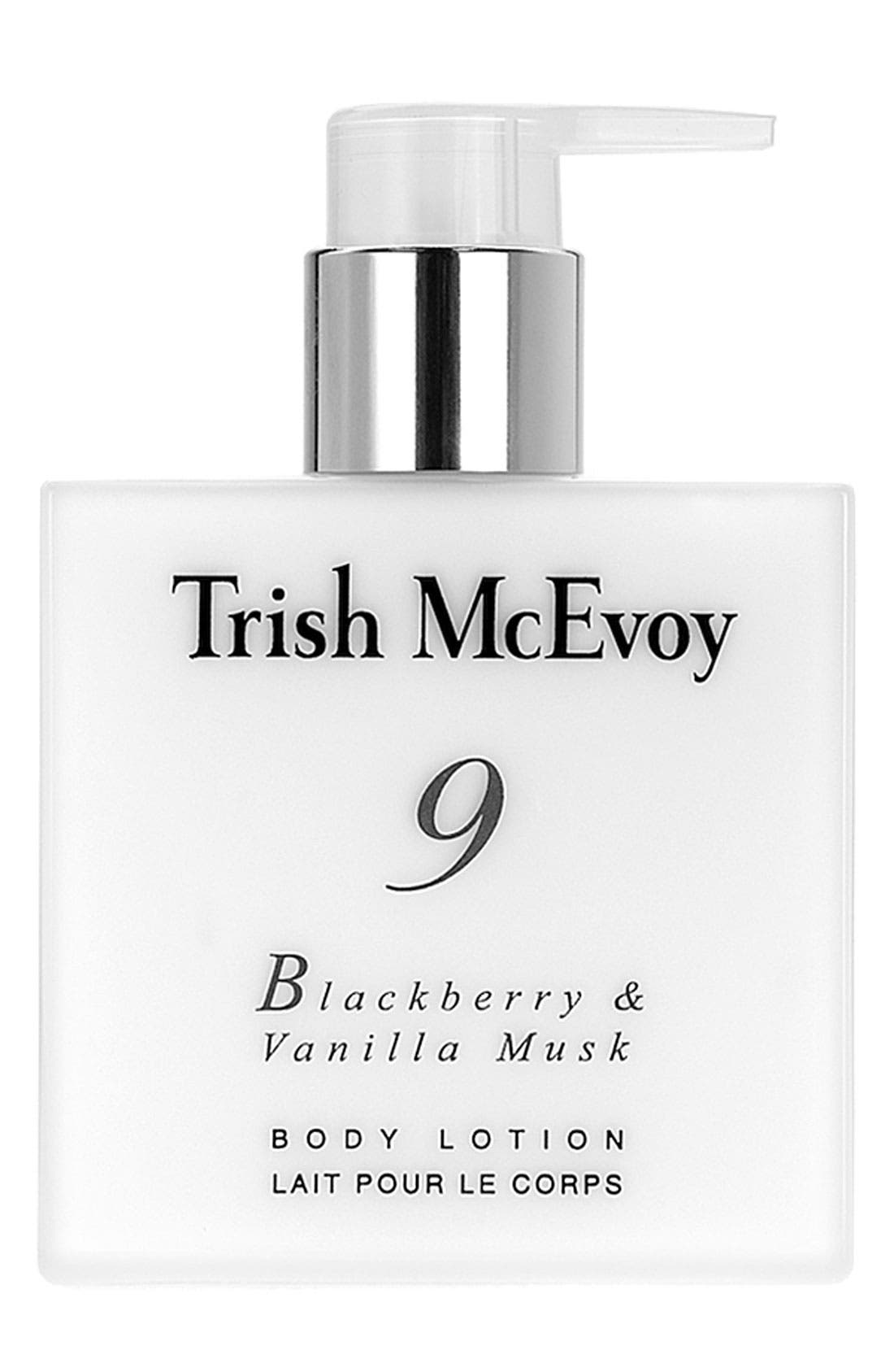 Trish McEvoy 'No. 9 Blackberry & Vanilla Musk' Body Lotion