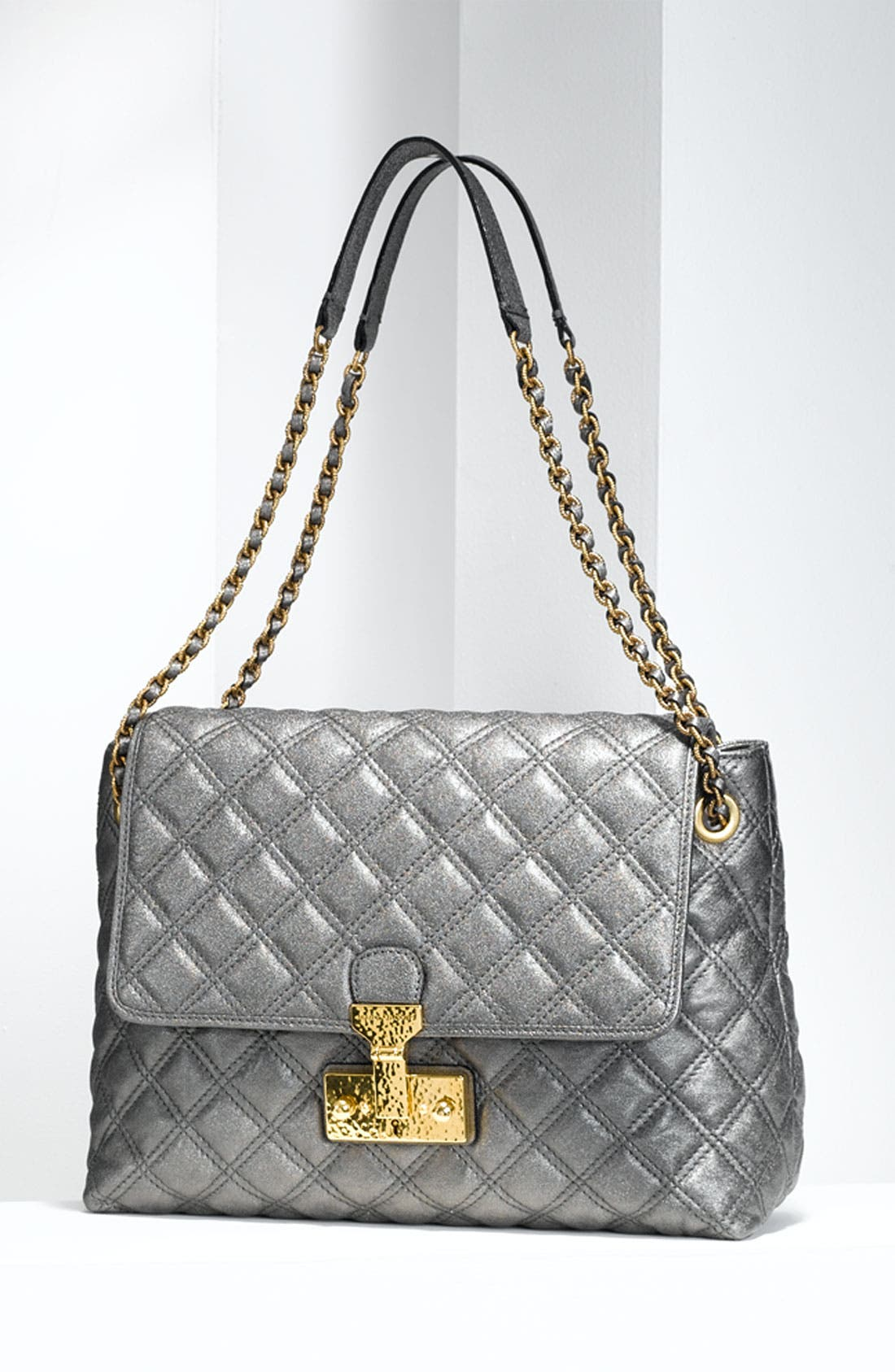 Alternate Image 5  - MARC JACOBS 'Baroque XL Single' Leather Shoulder Bag