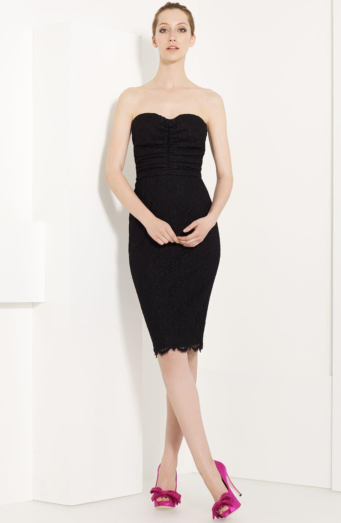 Main Image - Dolce&Gabbana Strapless Lace Dress