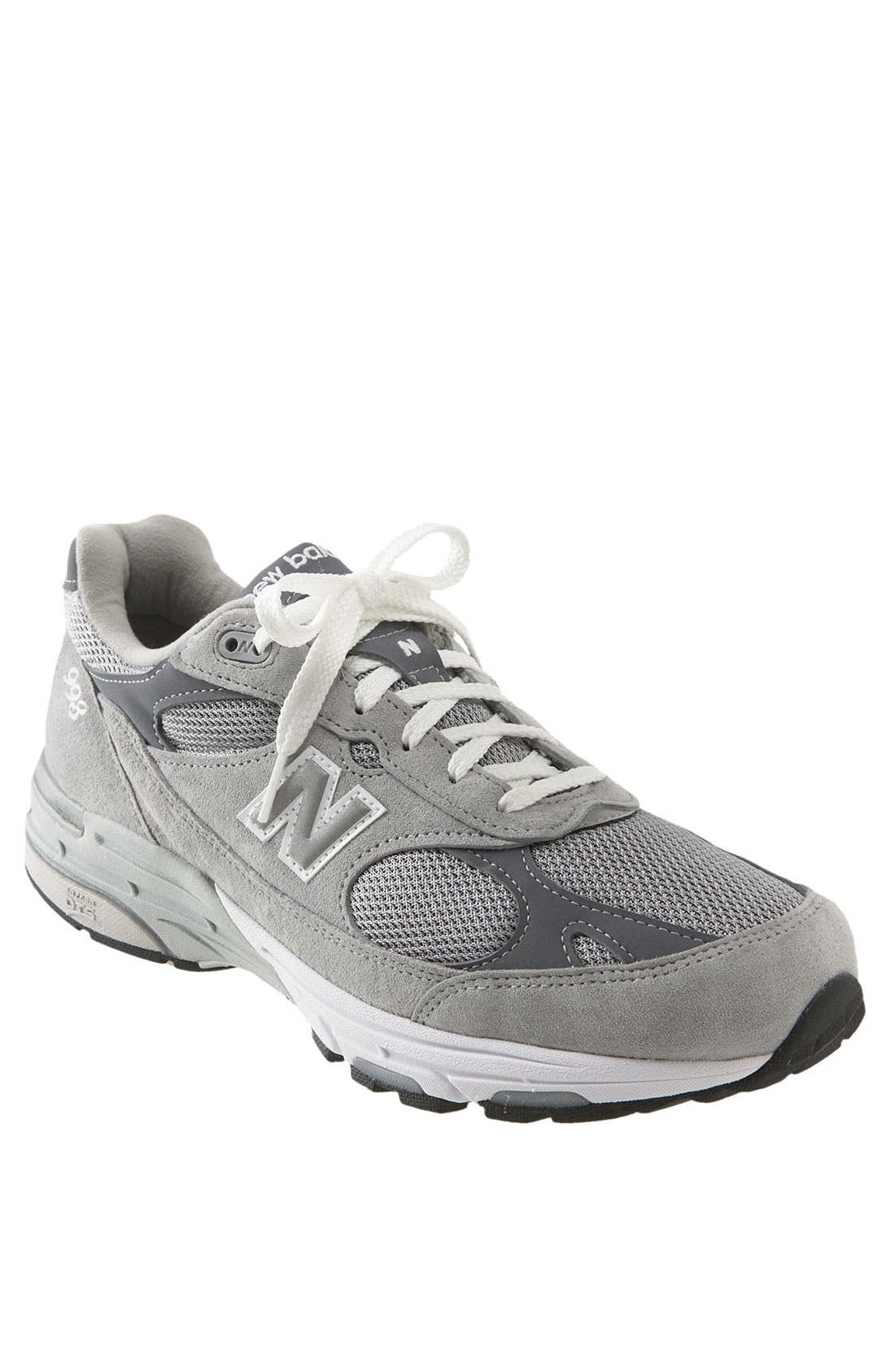 '993' Running Shoe,                             Main thumbnail 1, color,                             Grey