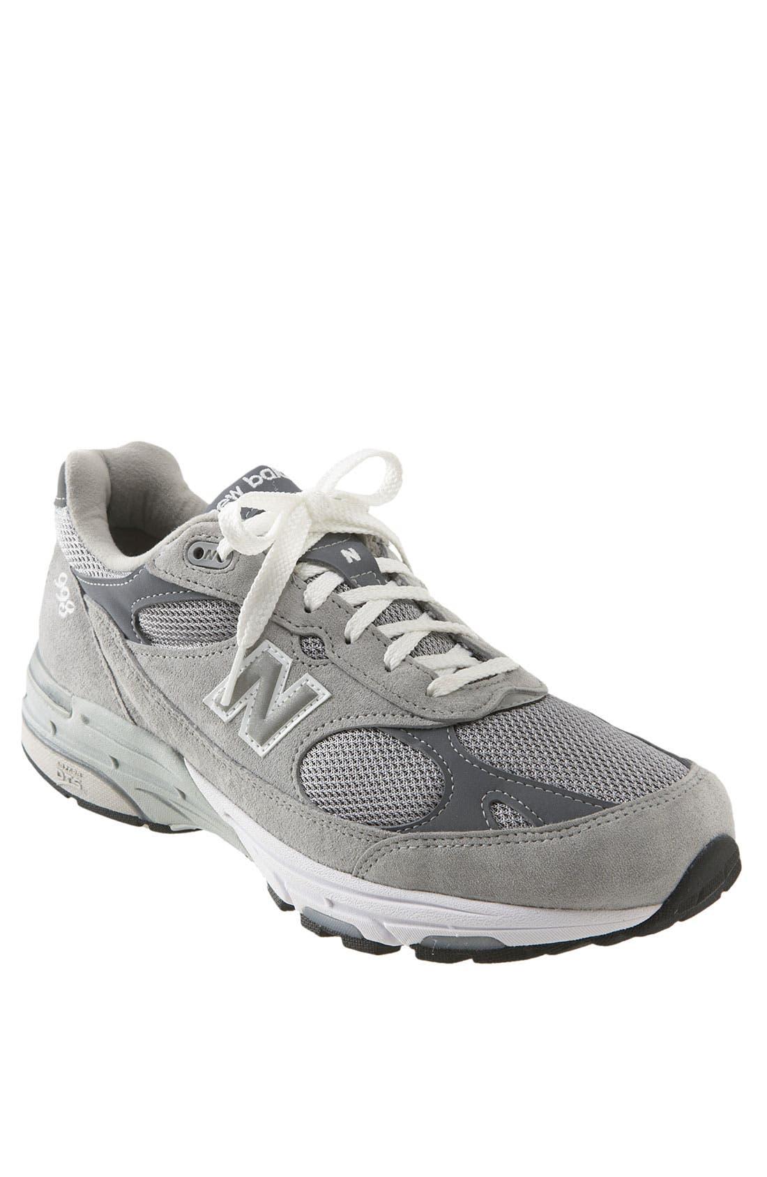 '993' Running Shoe,                         Main,                         color, Grey
