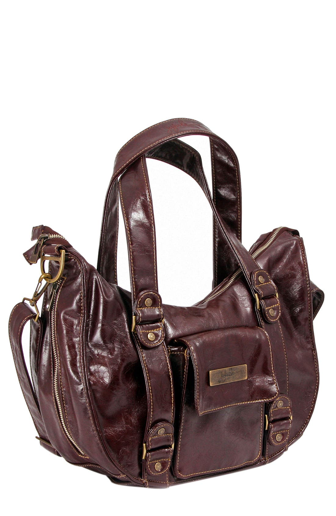 Main Image - Ju-Ju-Be 'Legacy' Earth Leather™ Faux Leather Diaper Bag