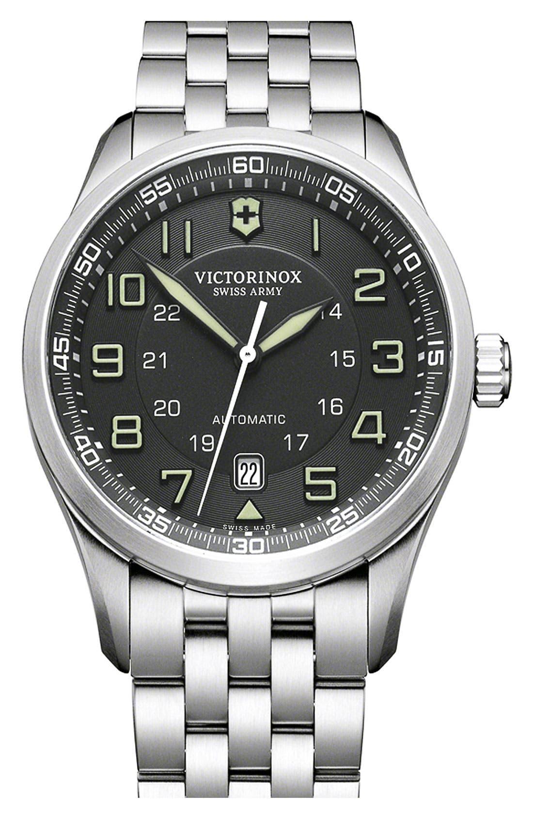 Main Image - Victorinox Swiss Army® 'Airboss' Automatic Bracelet Watch