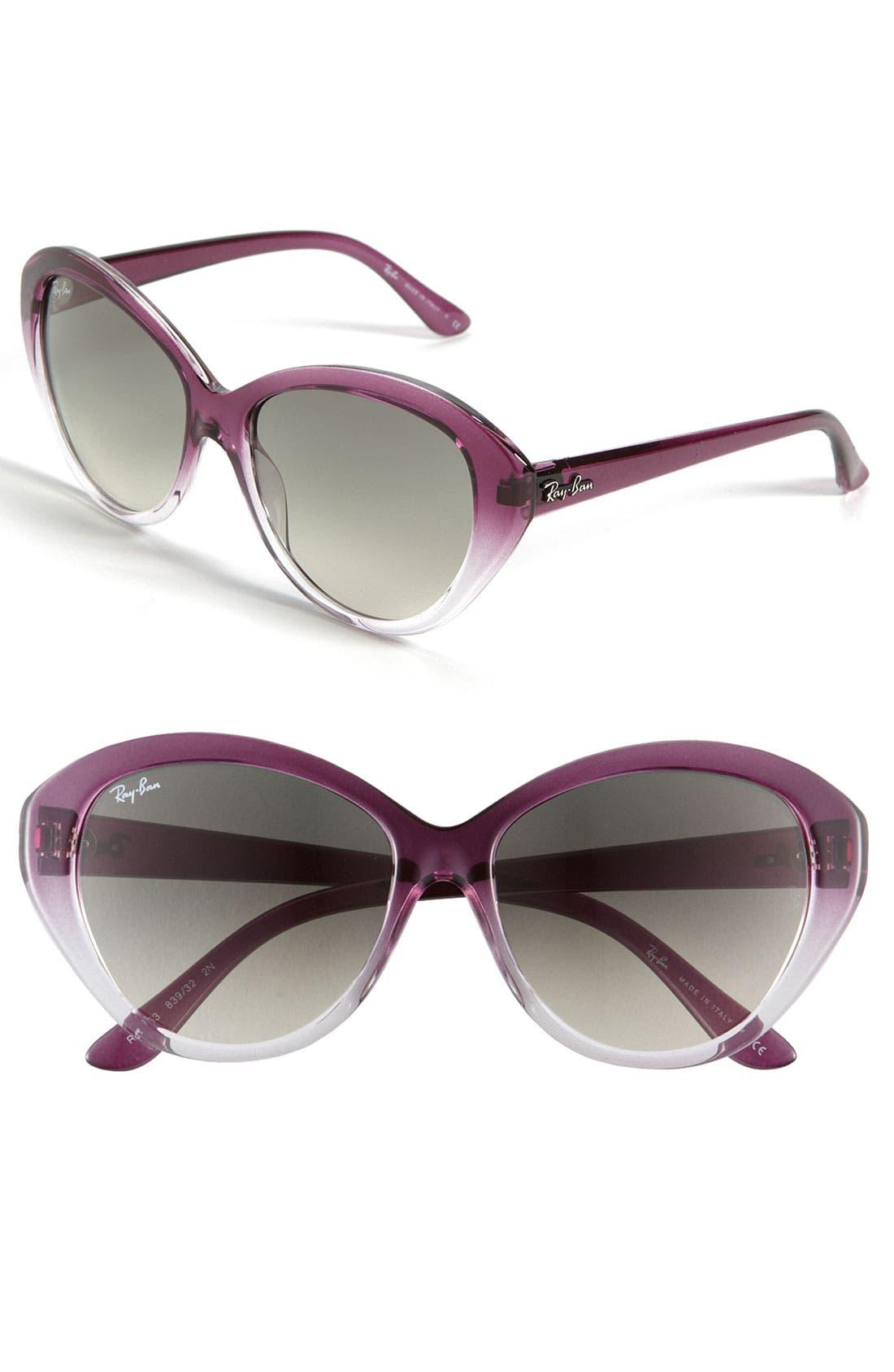 Alternate Image 1 Selected - Ray-Ban Retro Cat's Eye Sunglasses