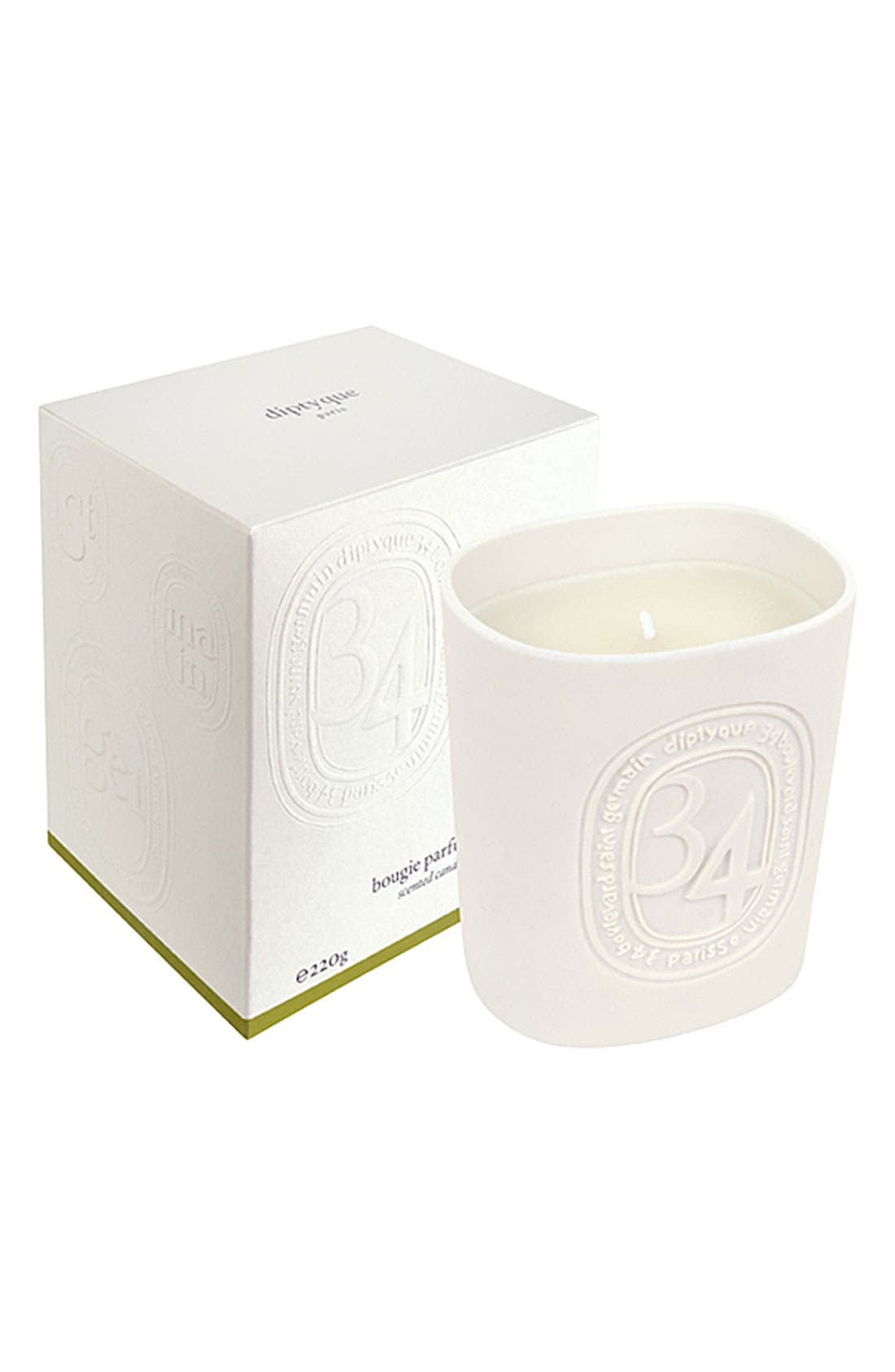 34 Scented Candle,                             Main thumbnail 4, color,