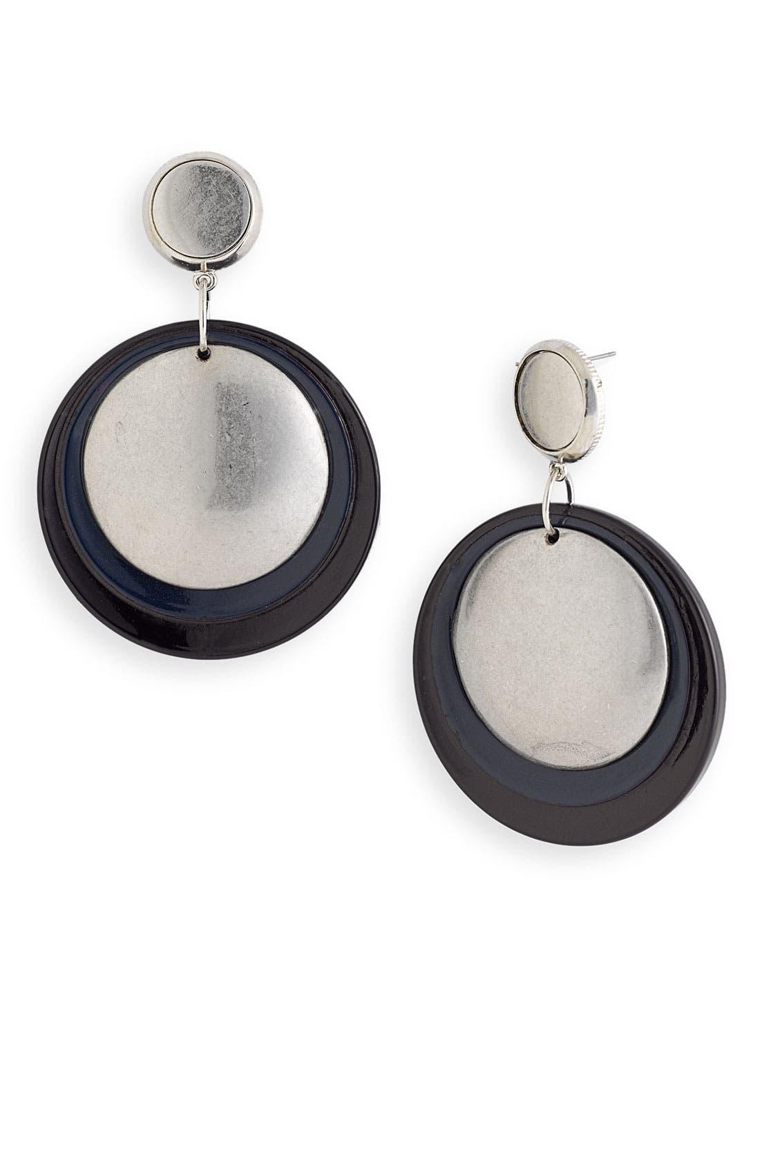 Alternate Image 1 Selected - Belle Noel Resin Disc Coin Earrings