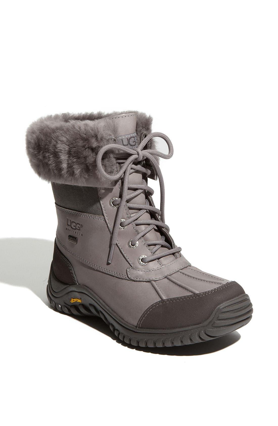 Adirondack II Waterproof Boot,                             Main thumbnail 1, color,                             Grey