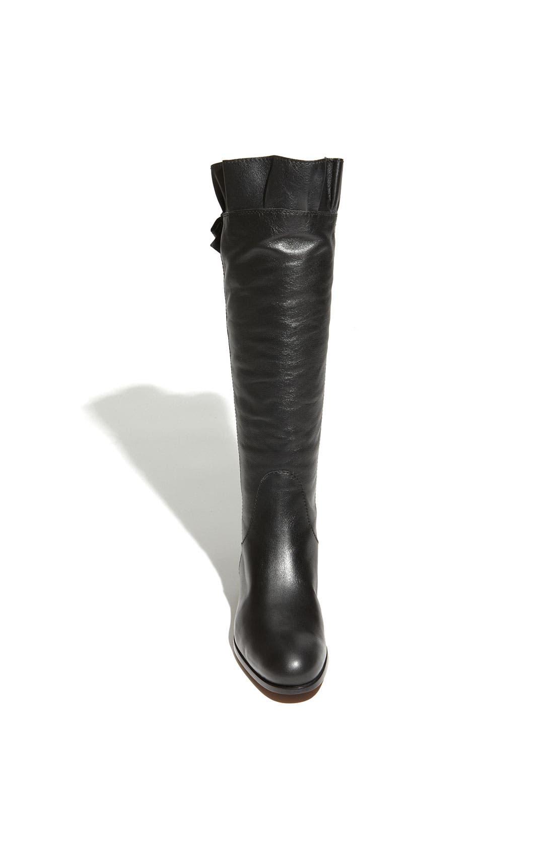 Alternate Image 3  - Moschino Cheap & Chic Ruffled Leather Boot