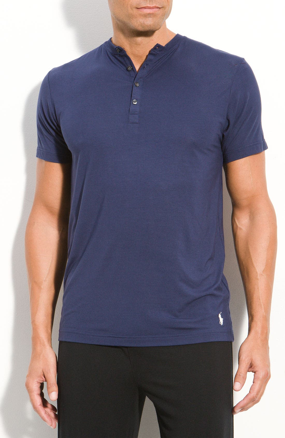 Alternate Image 1 Selected - Polo Ralph Lauren Modal Henley Shirt