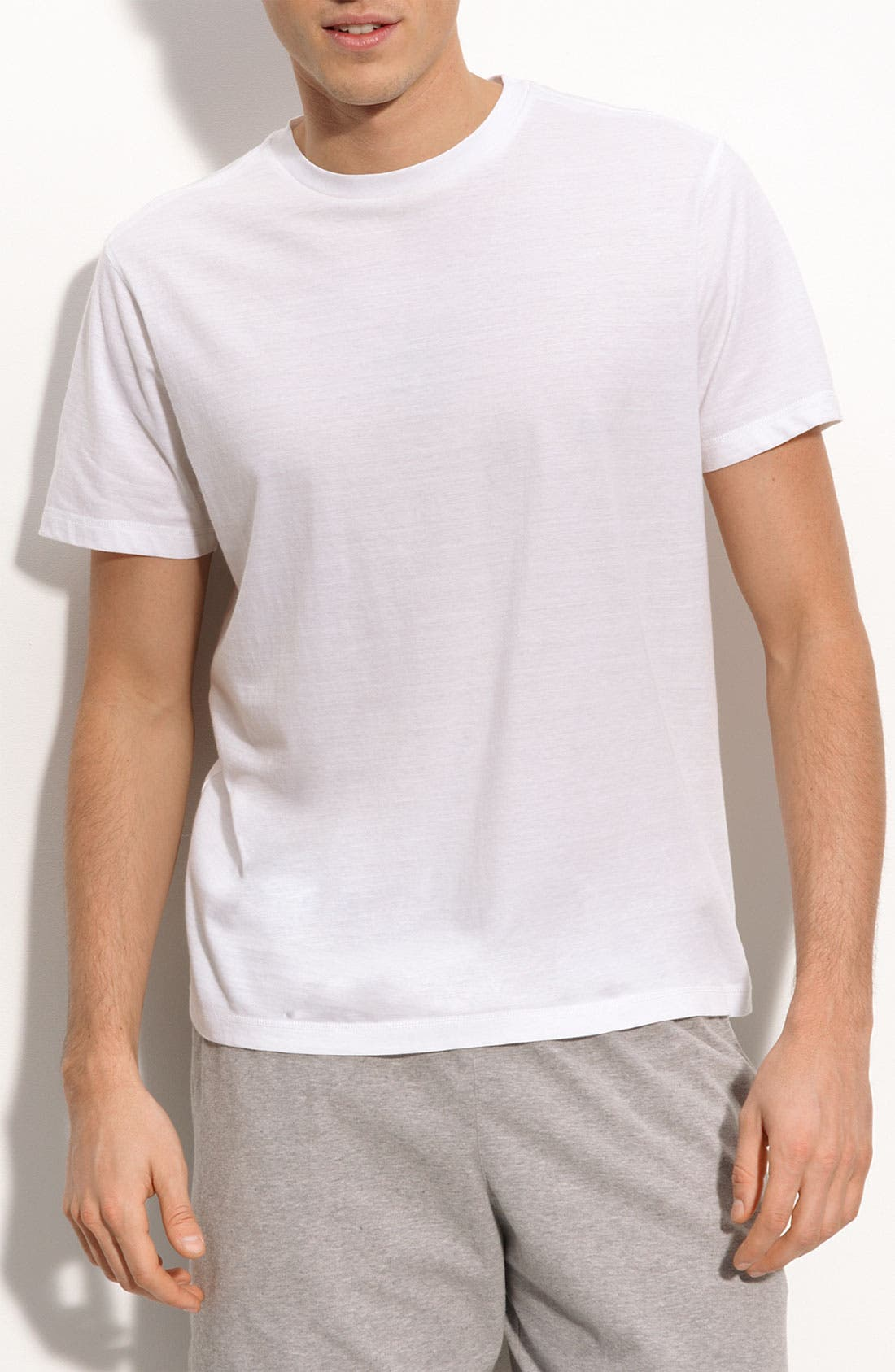 Peruvian Pima Cotton T-Shirt,                             Main thumbnail 1, color,                             White