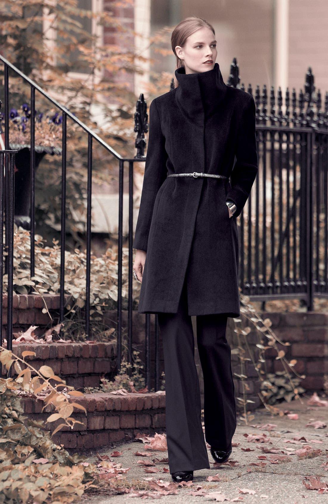 Alternate Image 3  - Calvin Klein Belted Coat