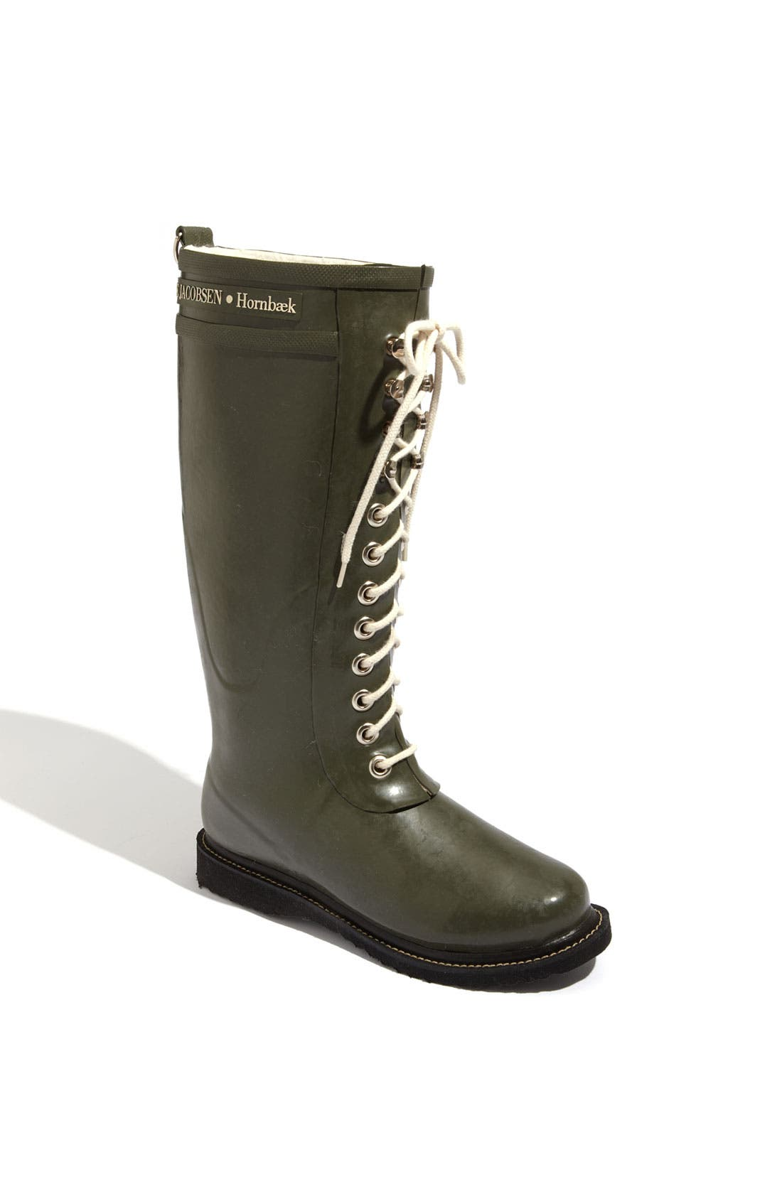 Ilse Jacobsen Hornbæk Rubber Boot (Women) (Wide Calf)