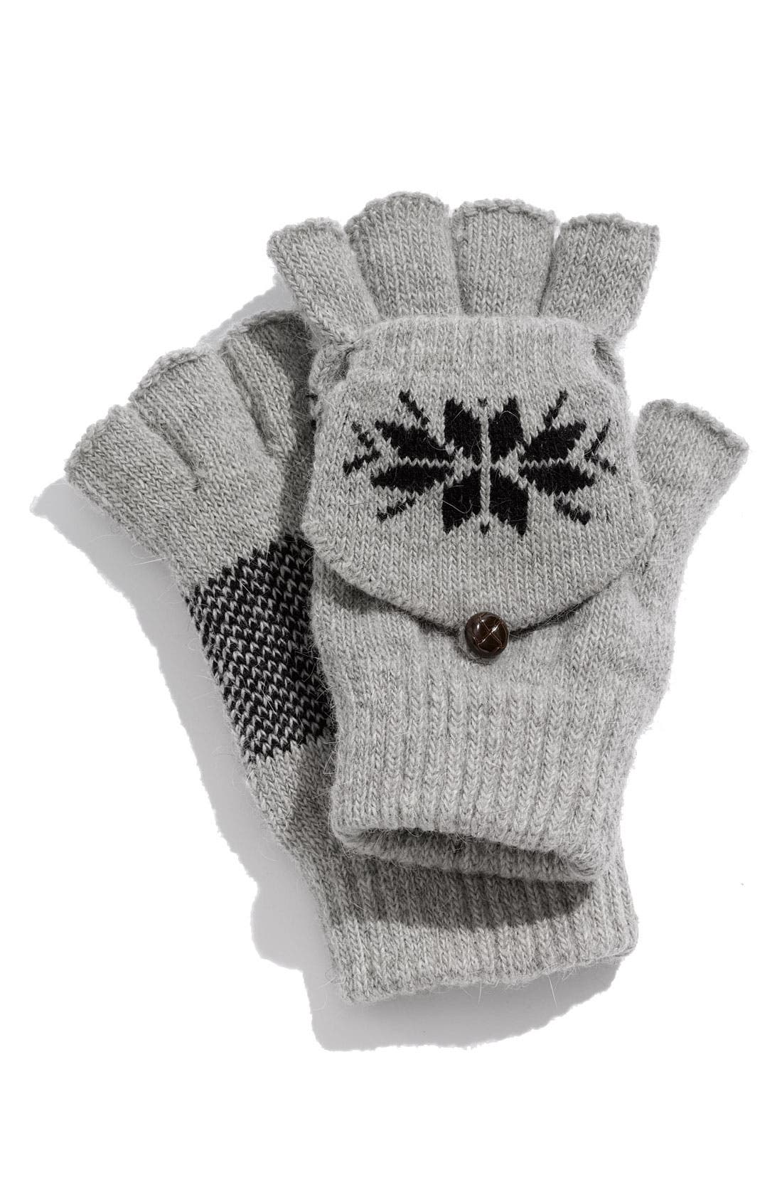 Main Image - The Accessory Collective Nordic Convertible Fingerless Gloves