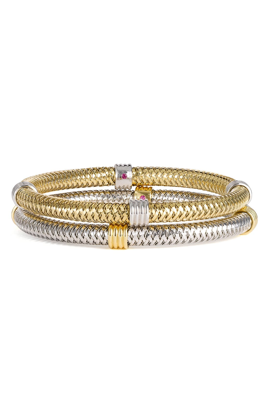 Main Image - Roberto Coin 'Primavera' Gold Stackable Bracelet