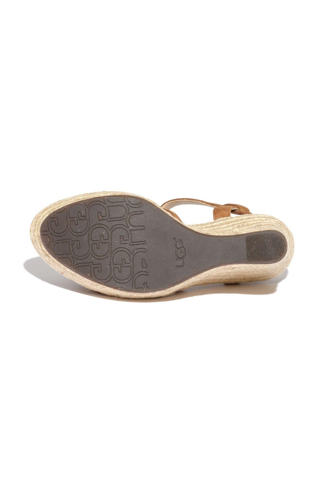 Alternate Image 4  - UGG® Australia 'Callia' Sandal